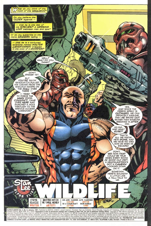 Read online Alpha Flight (1997) comic -  Issue #6 - 3