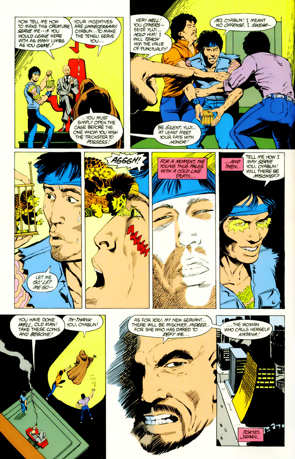 Read online Adventures of the Outsiders comic -  Issue #46 - 3