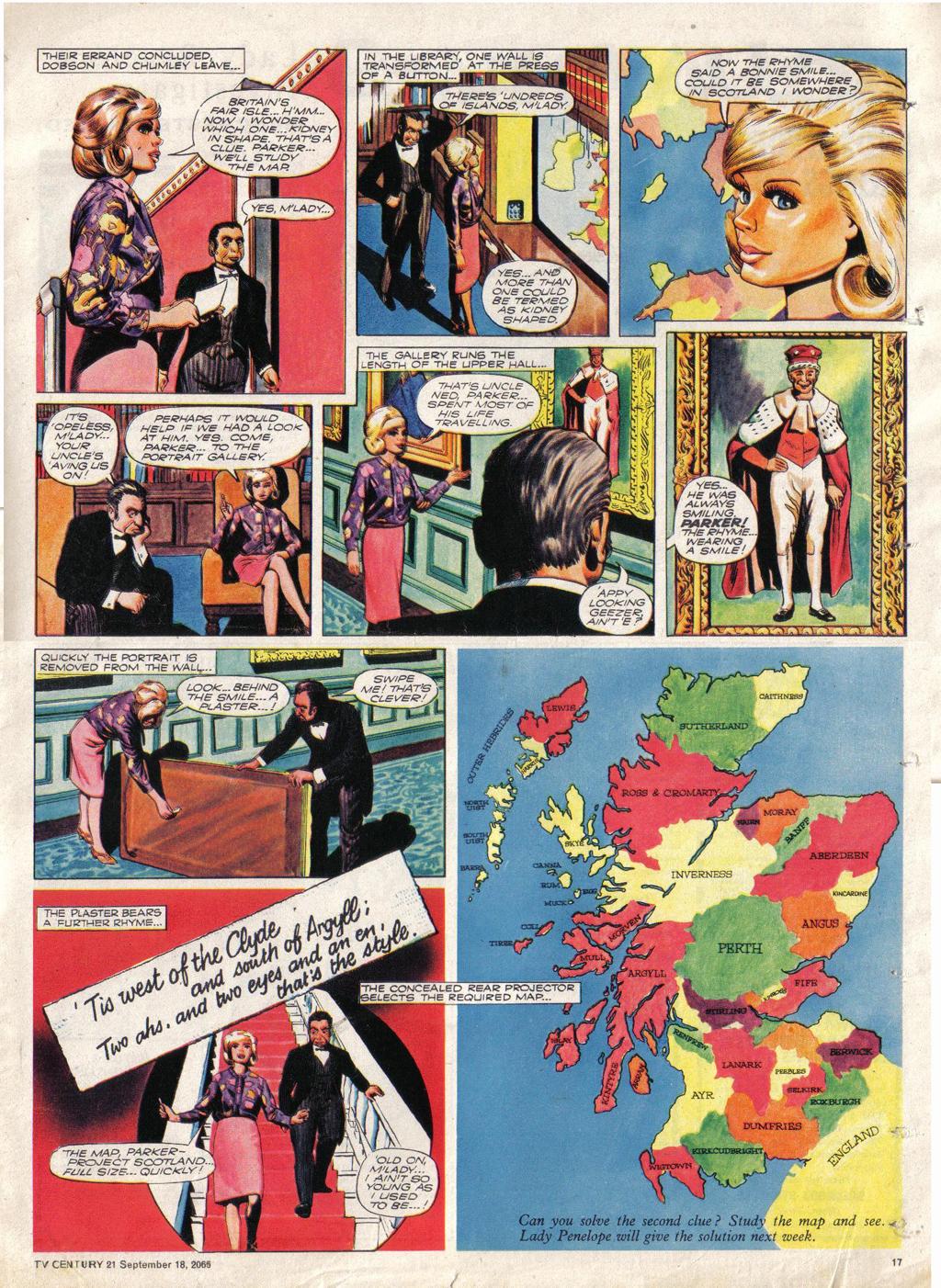 Read online TV Century 21 (TV 21) comic -  Issue #35 - 16