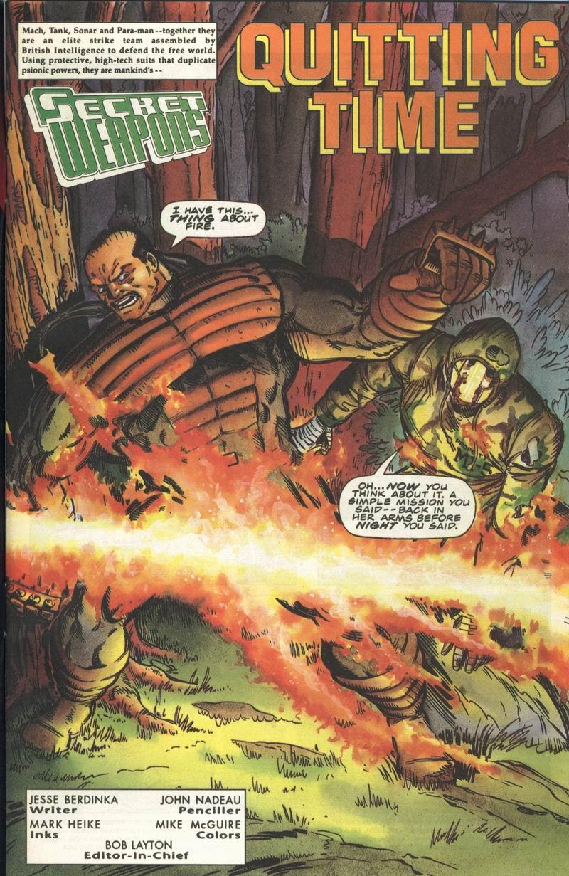Read online Secret Weapons comic -  Issue #14 - 2