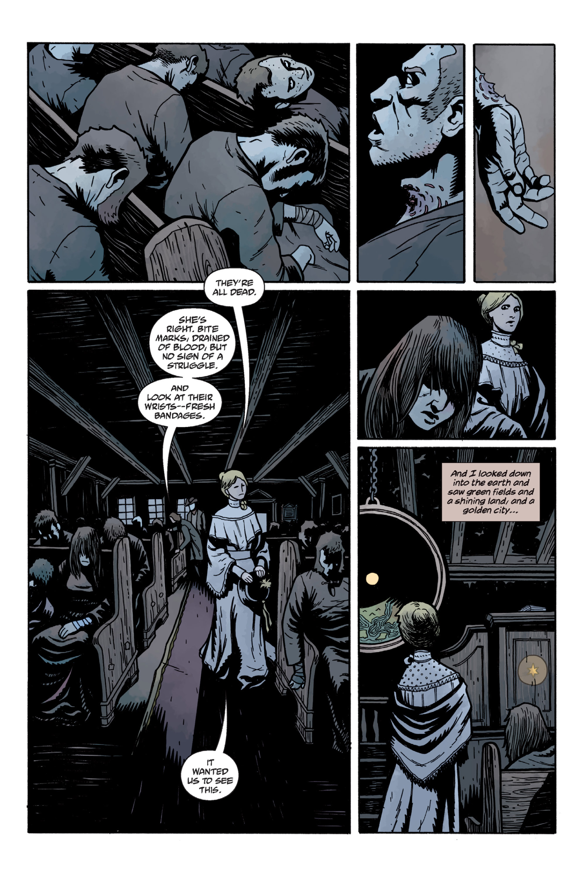 Read online Sir Edward Grey, Witchfinder: In the Service of Angels comic -  Issue # TPB - 70