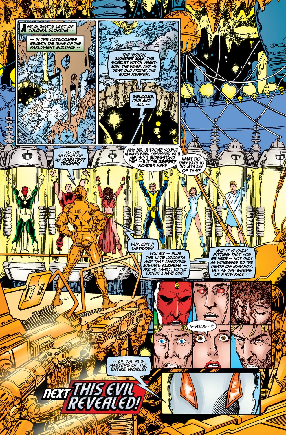 Read online Avengers (1998) comic -  Issue #20 - 22