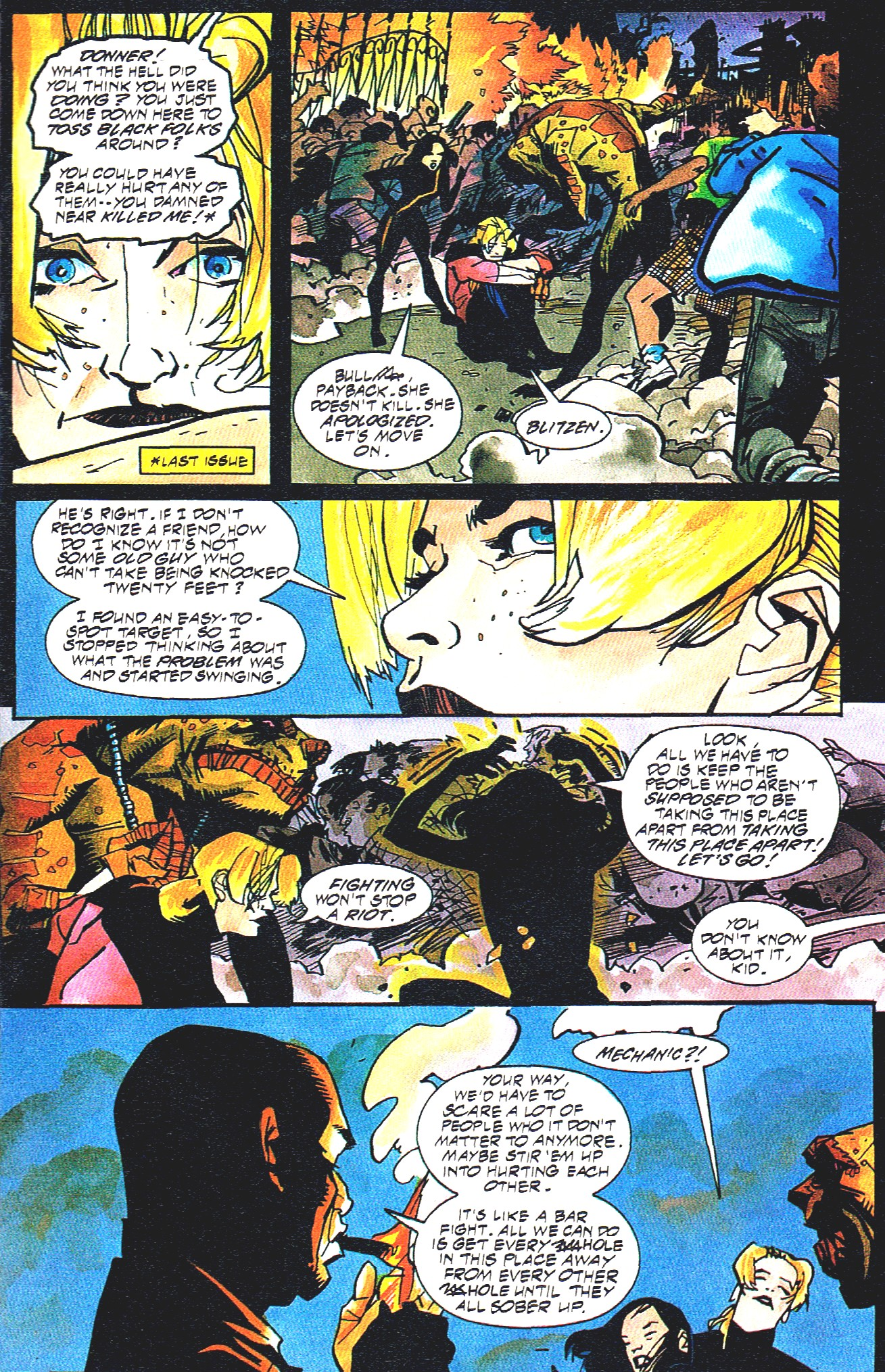 Read online Shadow Cabinet comic -  Issue #16 - 11