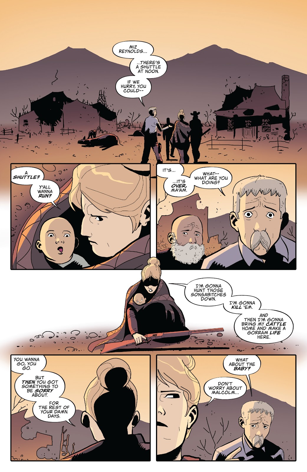 Read online Firefly: The Outlaw Ma Reynolds comic -  Issue # Full - 18