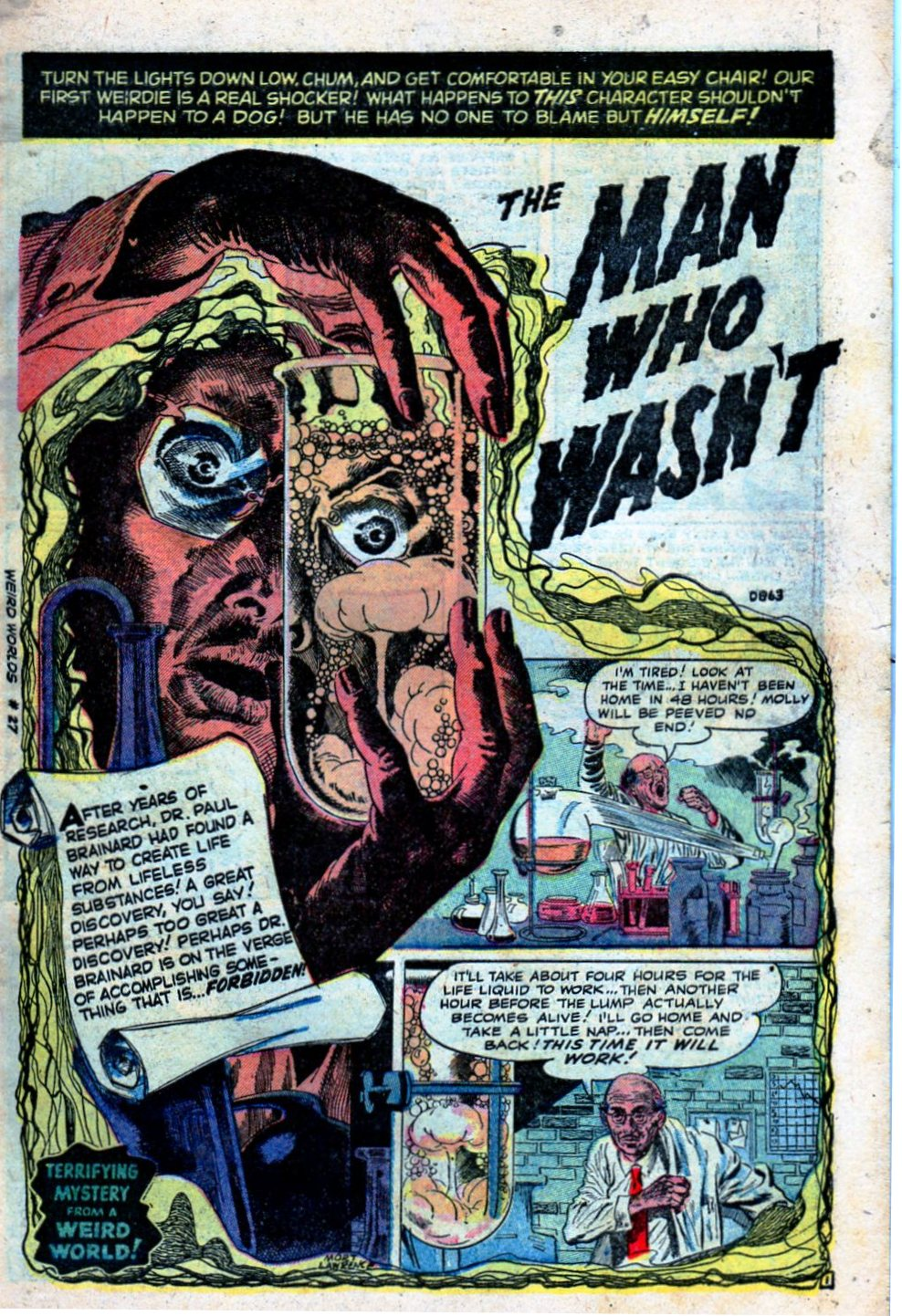 Read online Adventures into Weird Worlds comic -  Issue #27 - 4