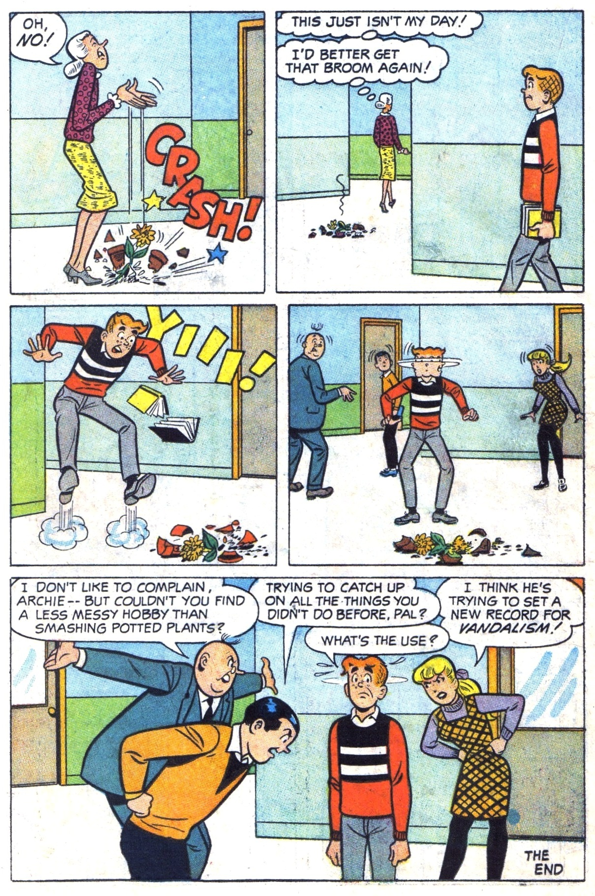 Read online Archie (1960) comic -  Issue #182 - 18