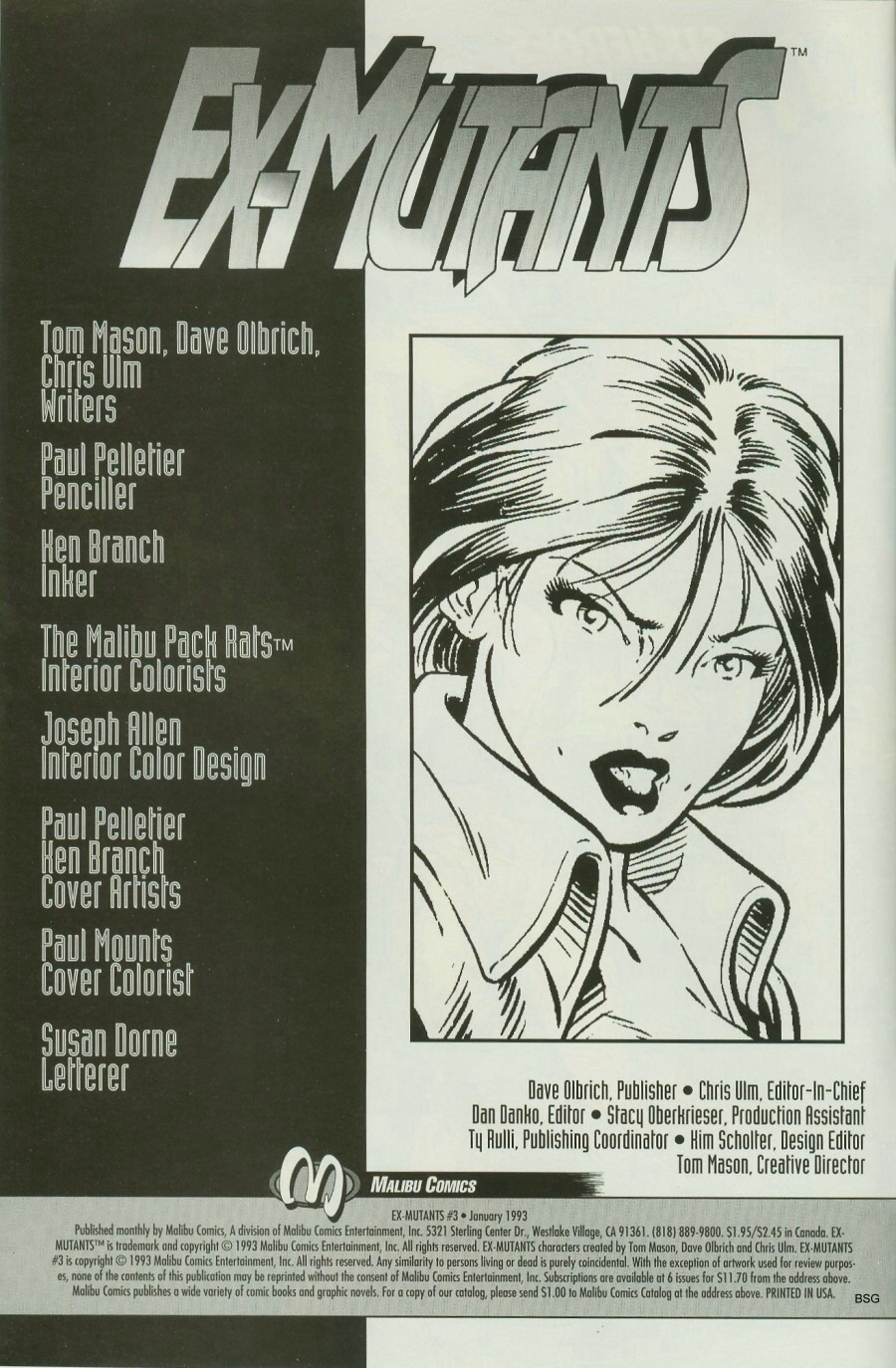 Read online Ex-Mutants comic -  Issue #3 - 2