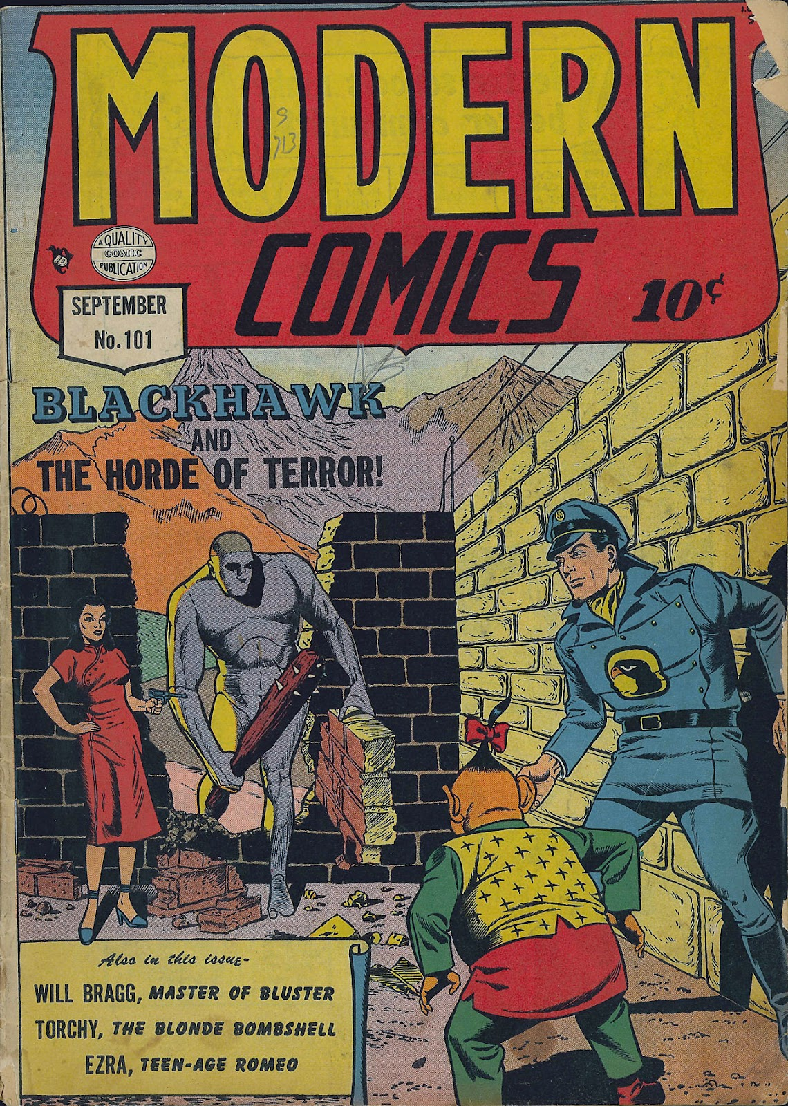Modern Comics 101 Page 1