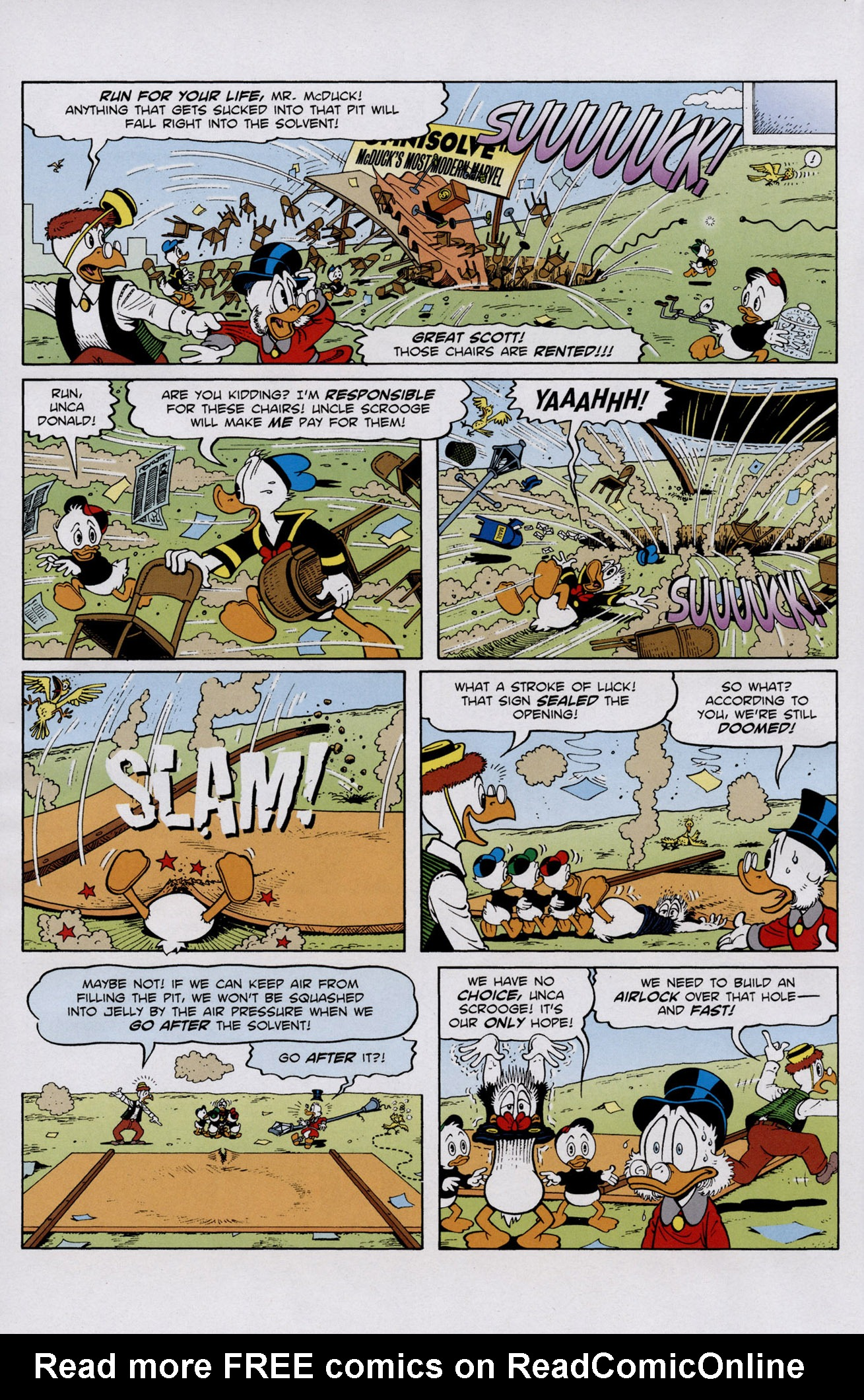 Read online Uncle Scrooge (1953) comic -  Issue #401 - 8