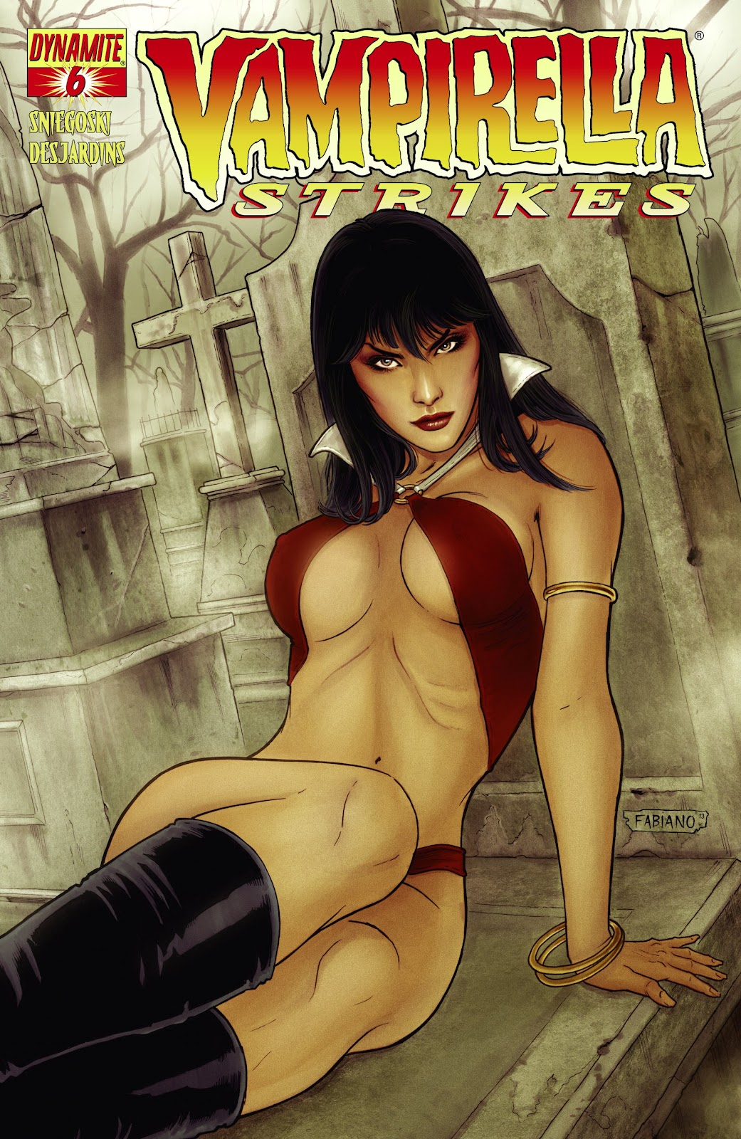 Read online Vampirella Strikes comic -  Issue #6 - 2