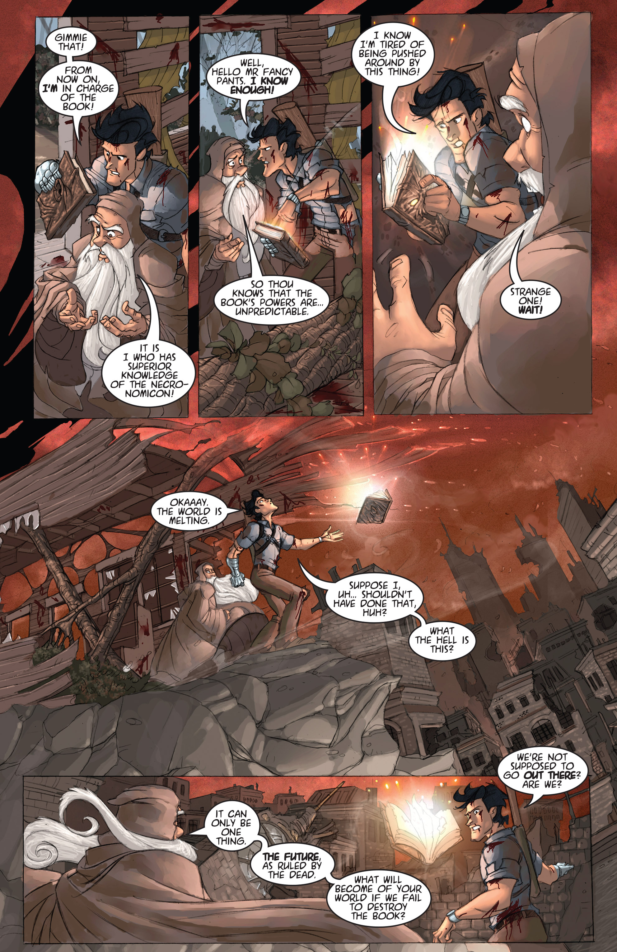 Read online Army of Darkness: Ashes 2 Ashes comic -  Issue #2 - 24