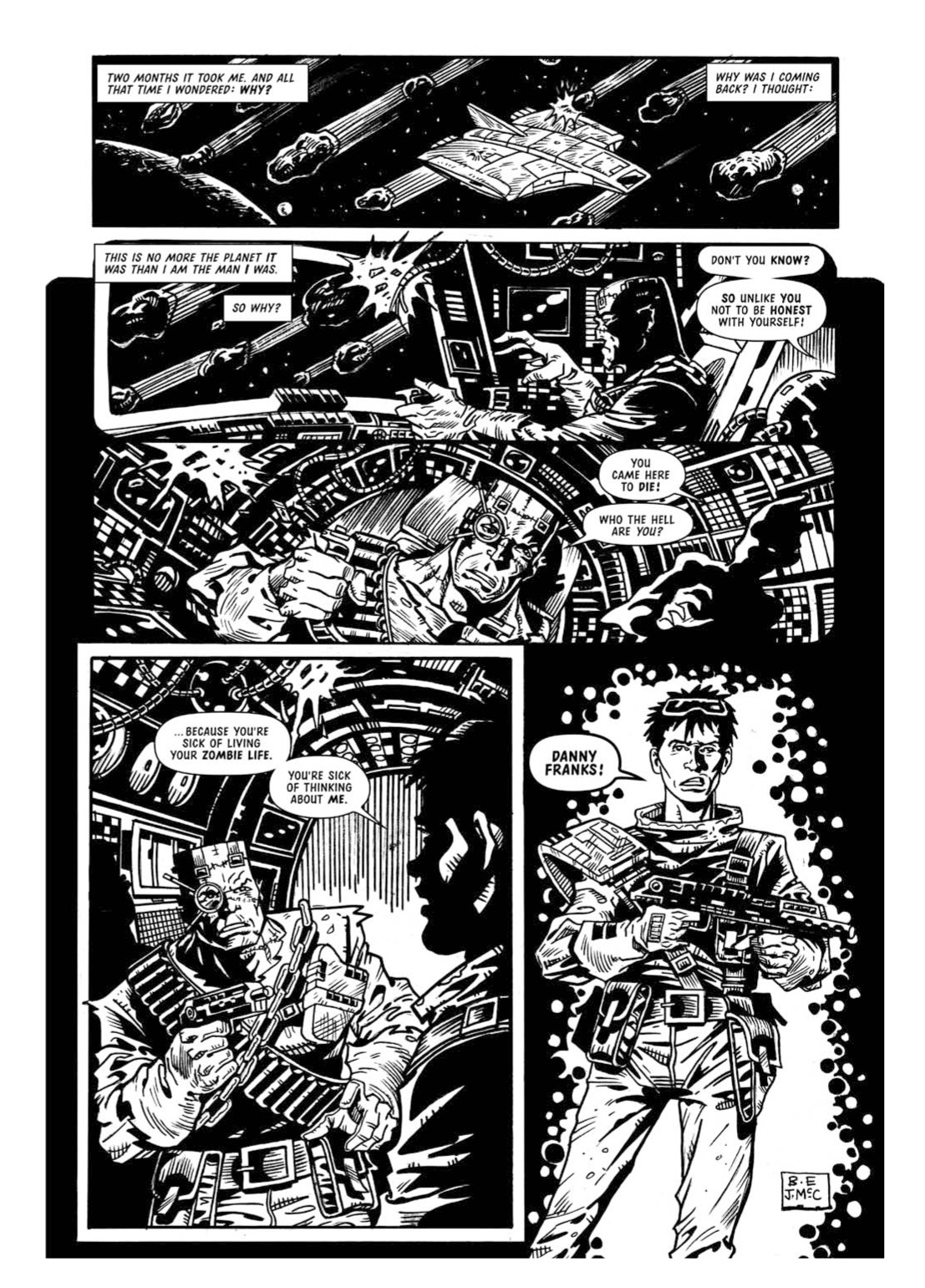 Read online The Complete Bad Company comic -  Issue # TPB - 326