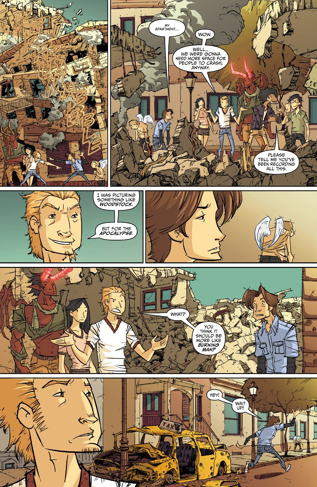 Read online The End Times of Bram and Ben comic -  Issue #2 - 20