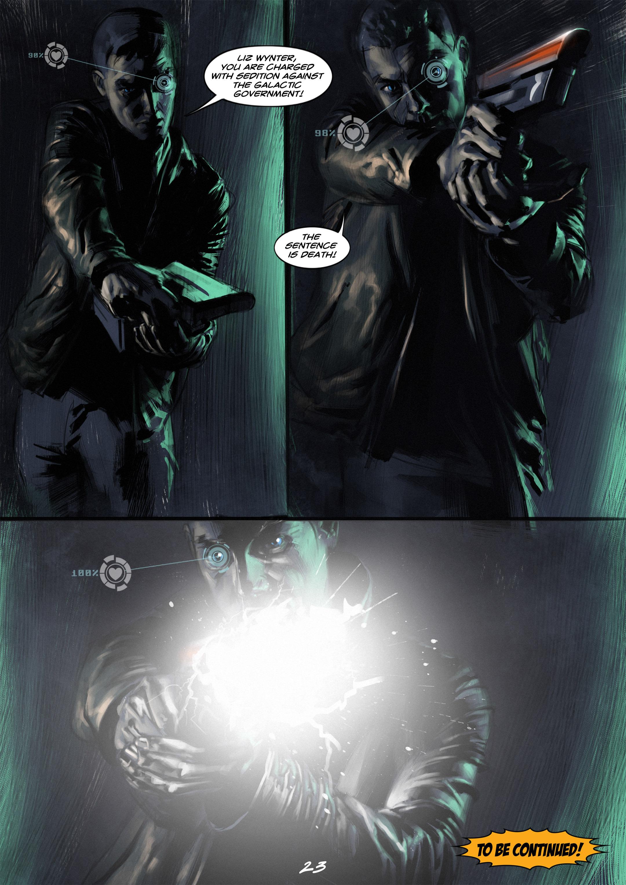 Read online Wynter comic -  Issue #2 - 23