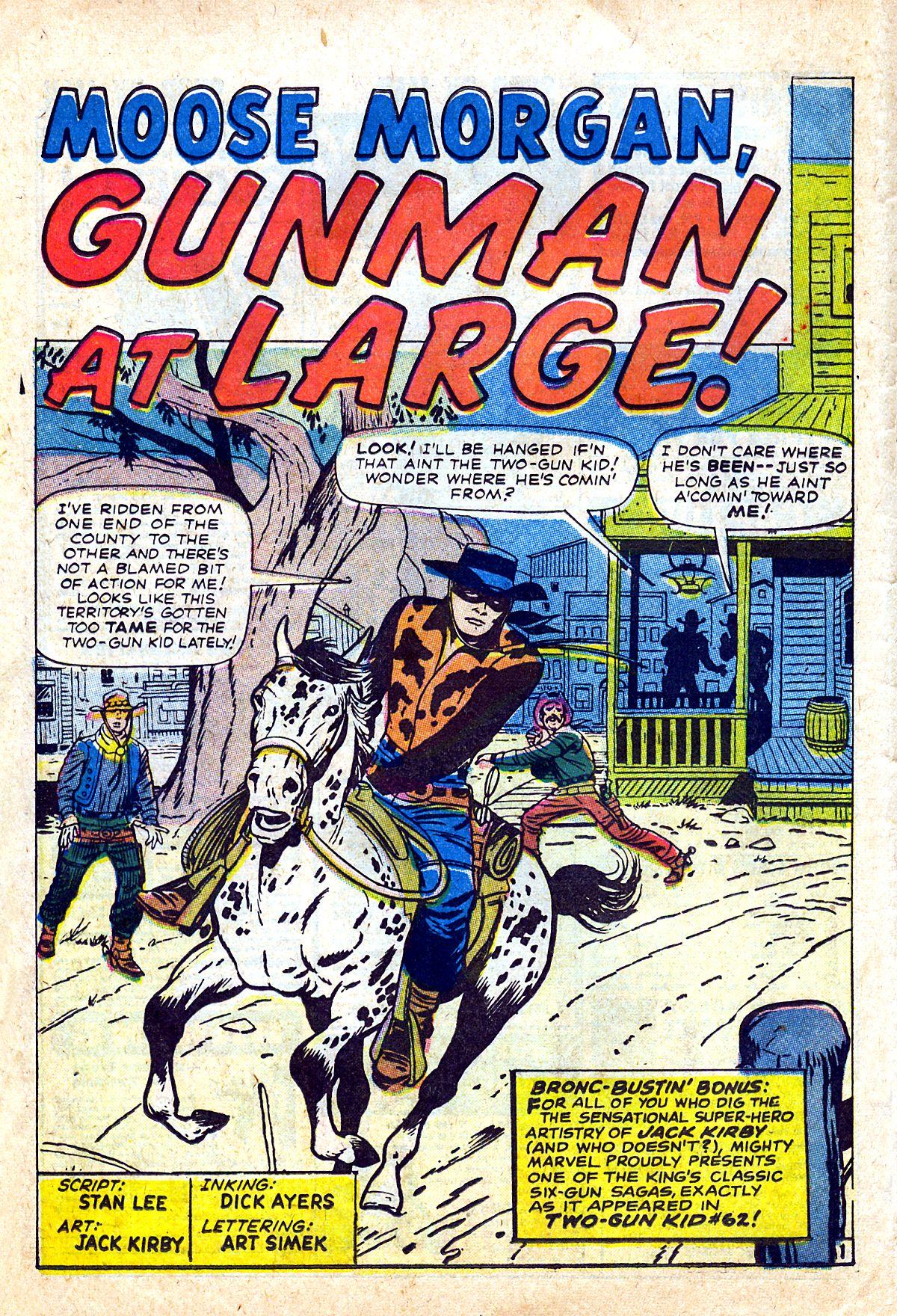 Read online Two-Gun Kid comic -  Issue #90 - 14