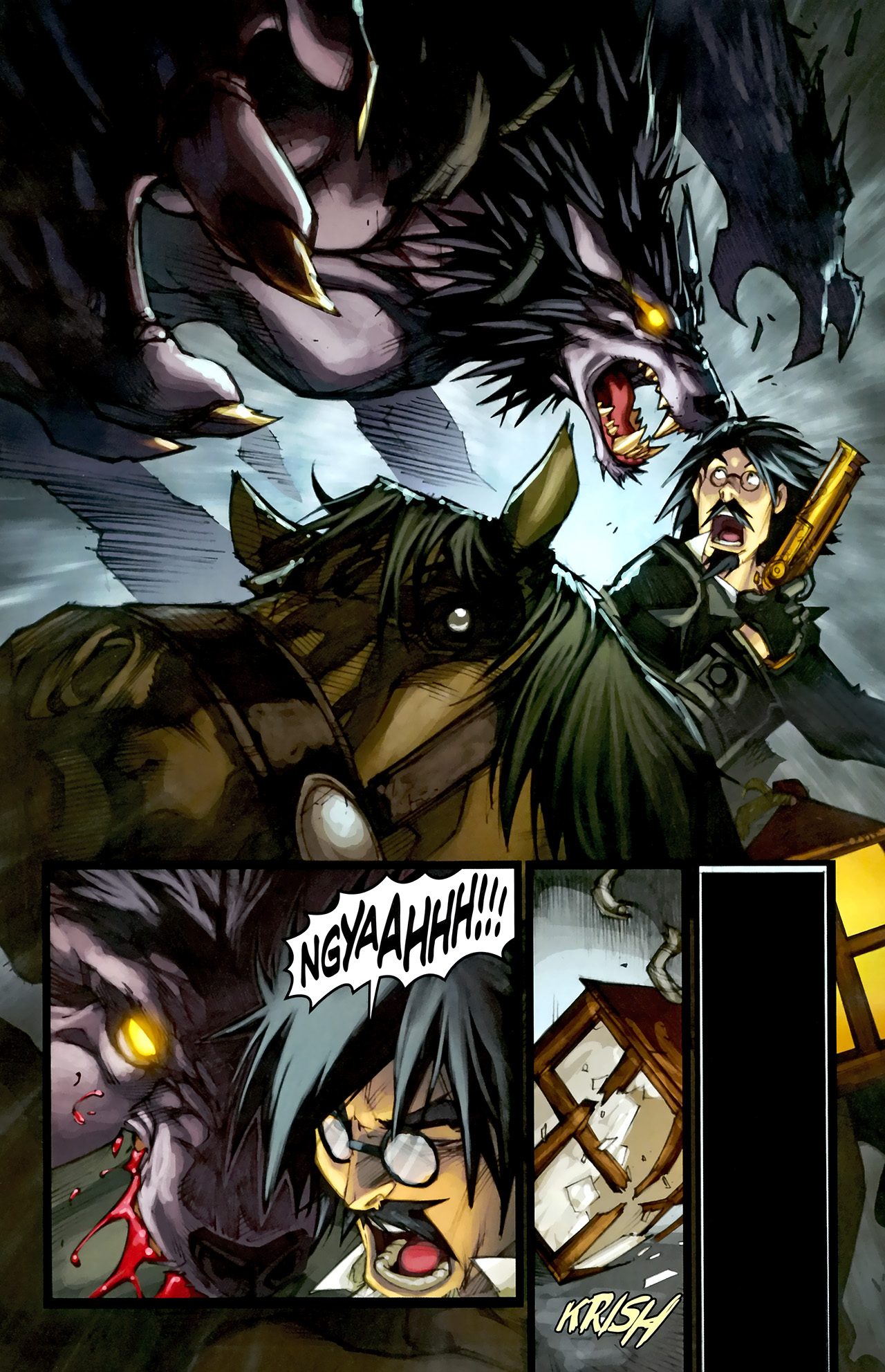 Read online World of Warcraft: Curse of the Worgen comic -  Issue #1 - 15
