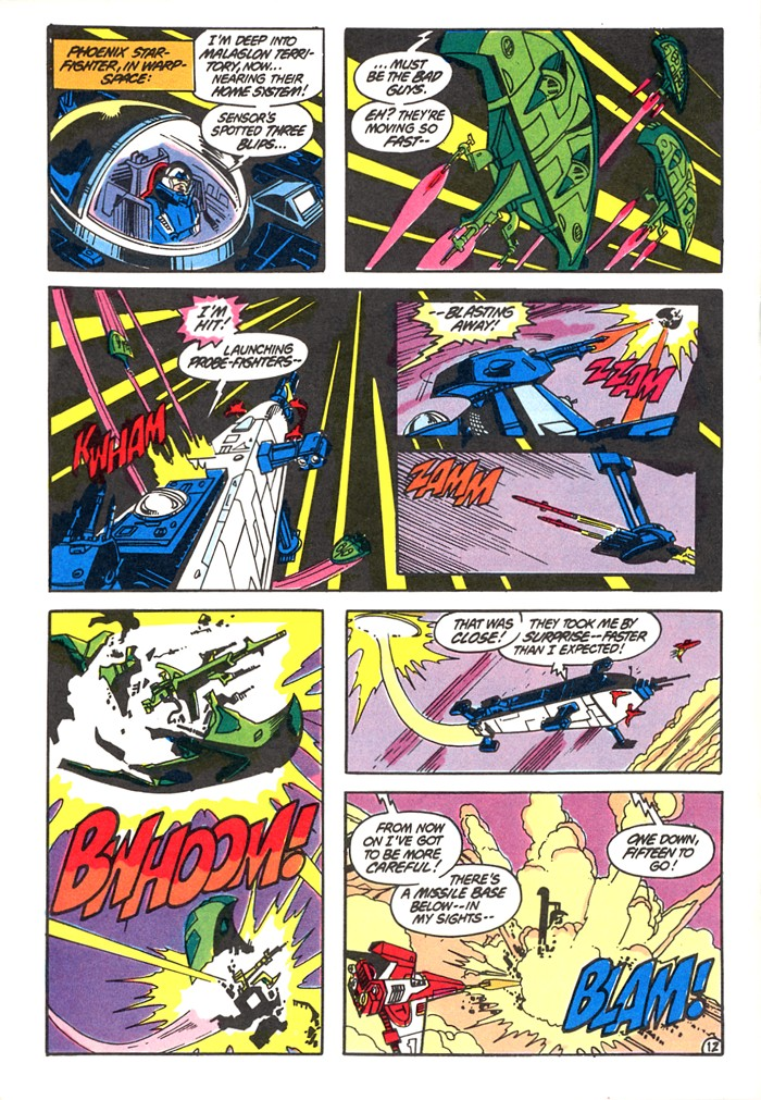 Read online Atari Force (1982) comic -  Issue #4 - 14