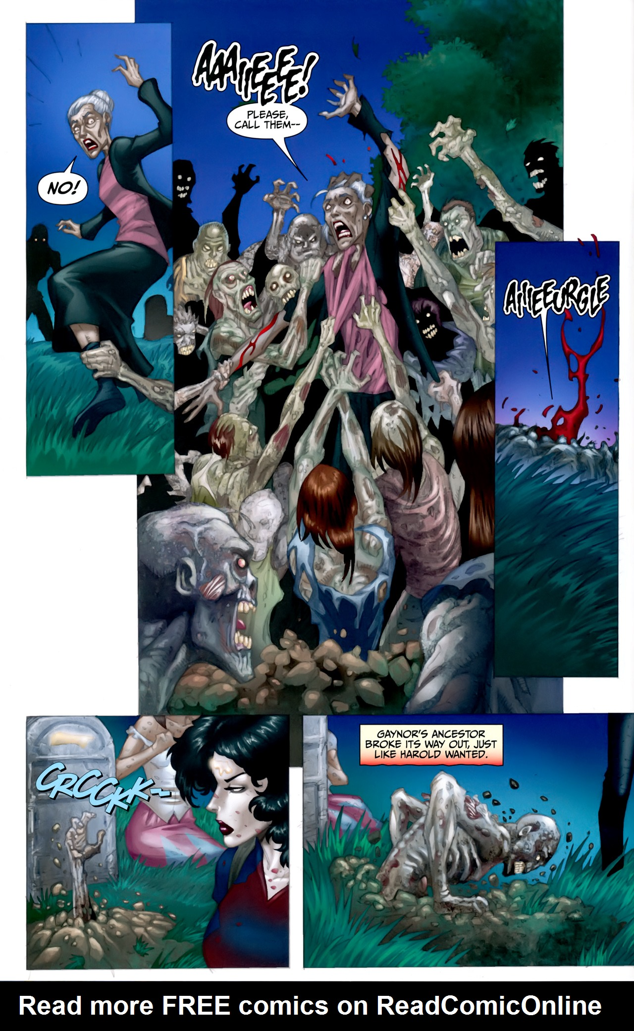 Read online Anita Blake: The Laughing Corpse - Executioner comic -  Issue #5 - 9