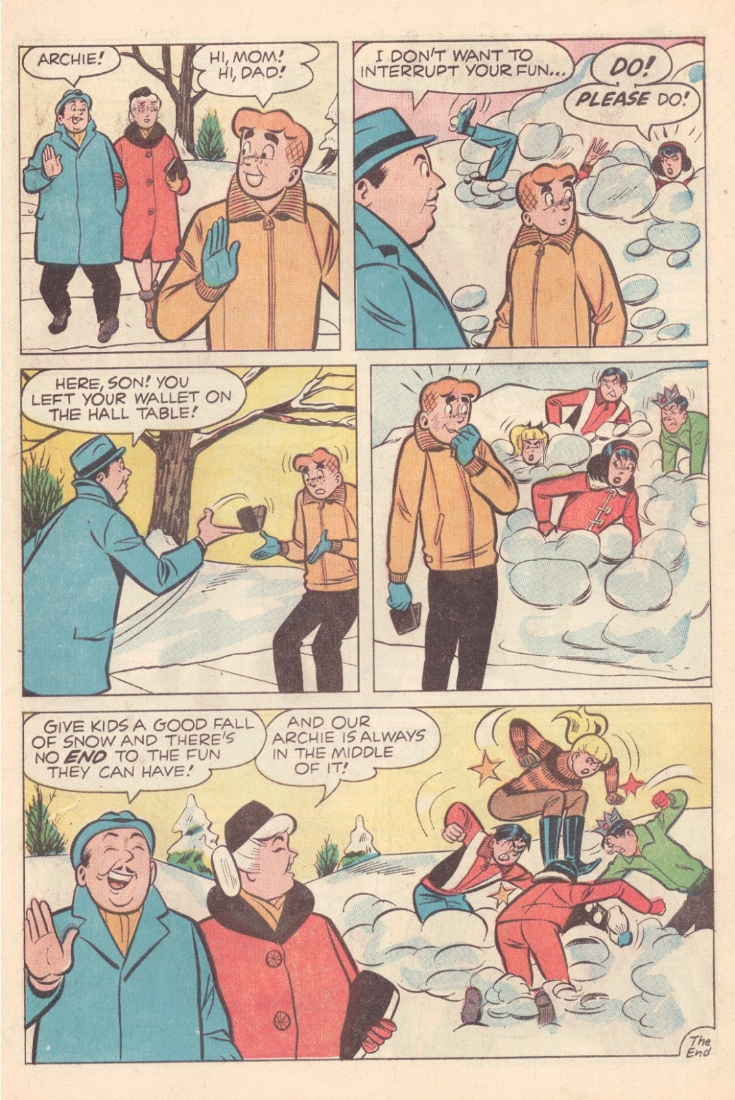 Read online Archie (1960) comic -  Issue #163 - 7