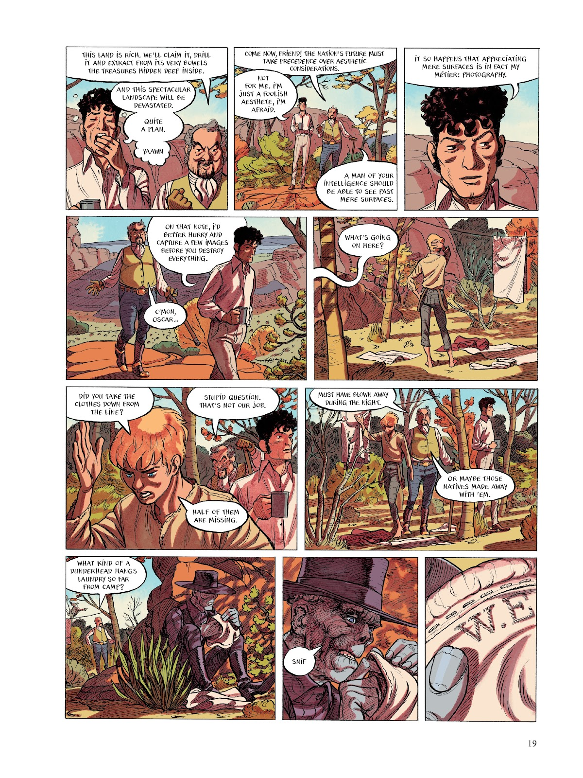 Read online The Smell of Starving Boys comic -  Issue # TPB - 20