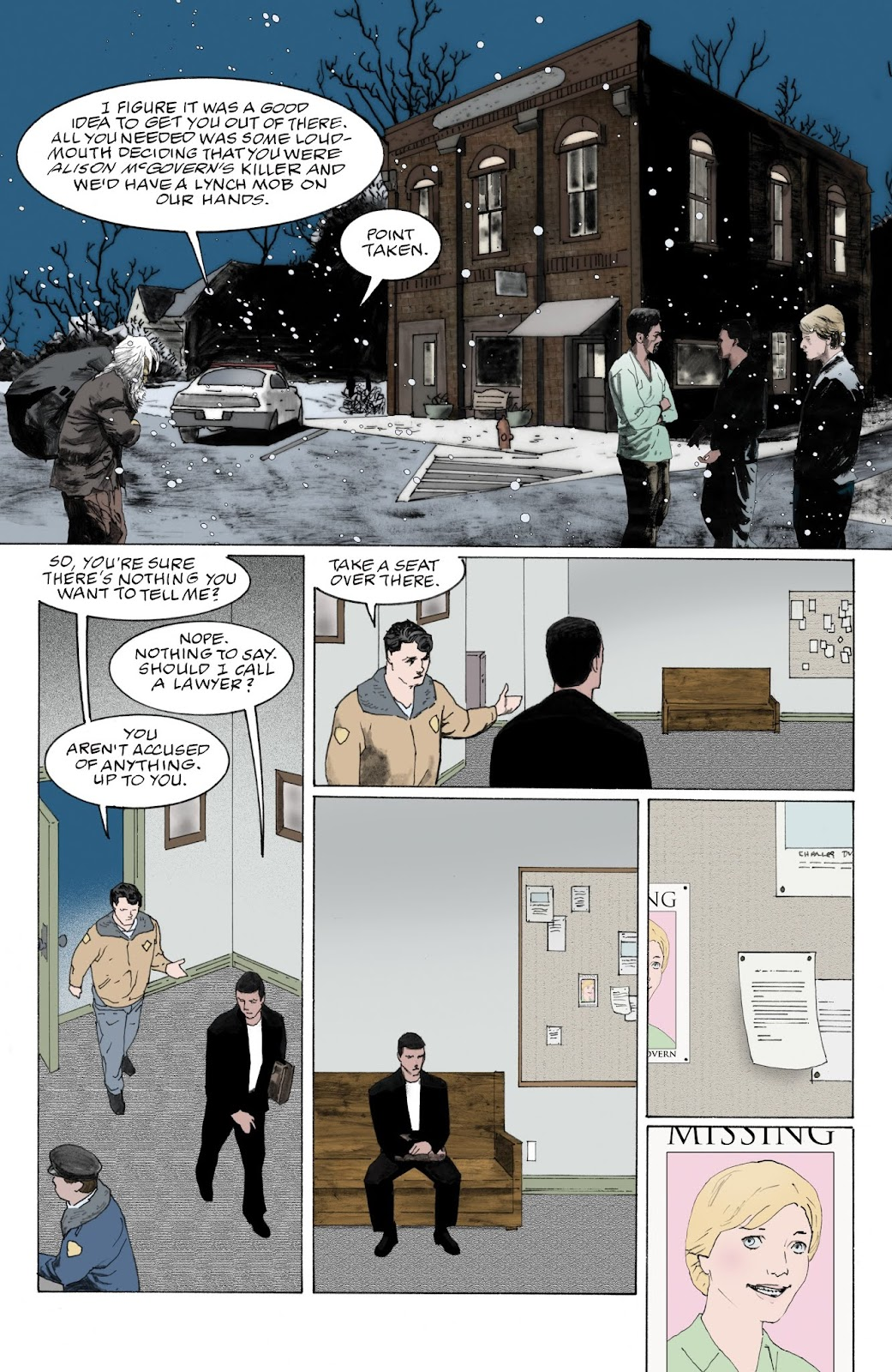 American Gods: My Ainsel issue 9 - Page 3