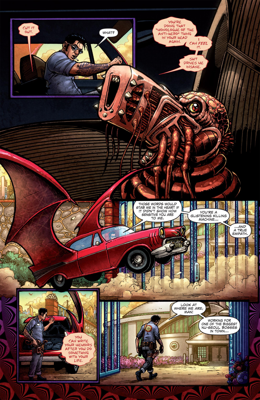 Read online Ballistic (2013) comic -  Issue #1 - 6