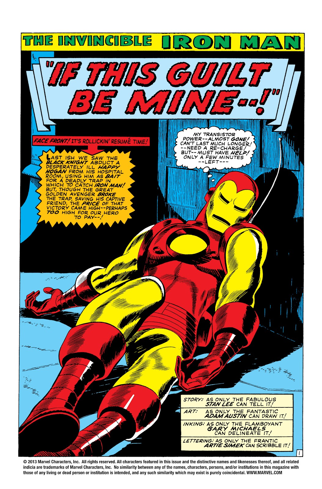 Read online Marvel Masterworks: The Invincible Iron Man comic -  Issue # TPB 3 (Part 2) - 88