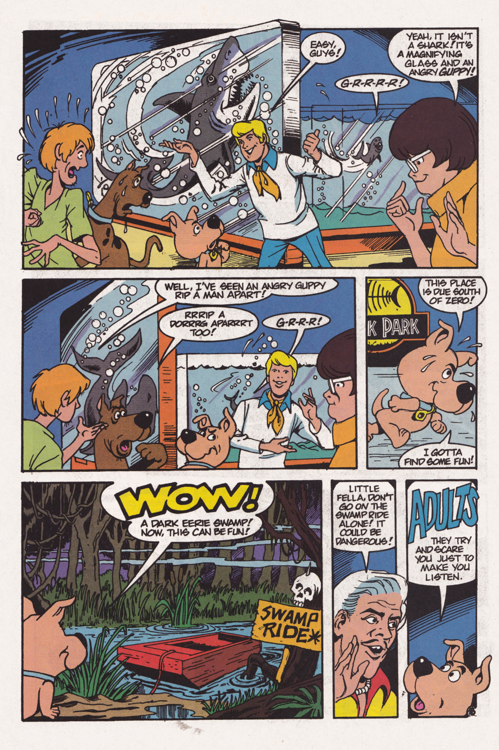 Read online Scooby-Doo (1995) comic -  Issue #1 - 6