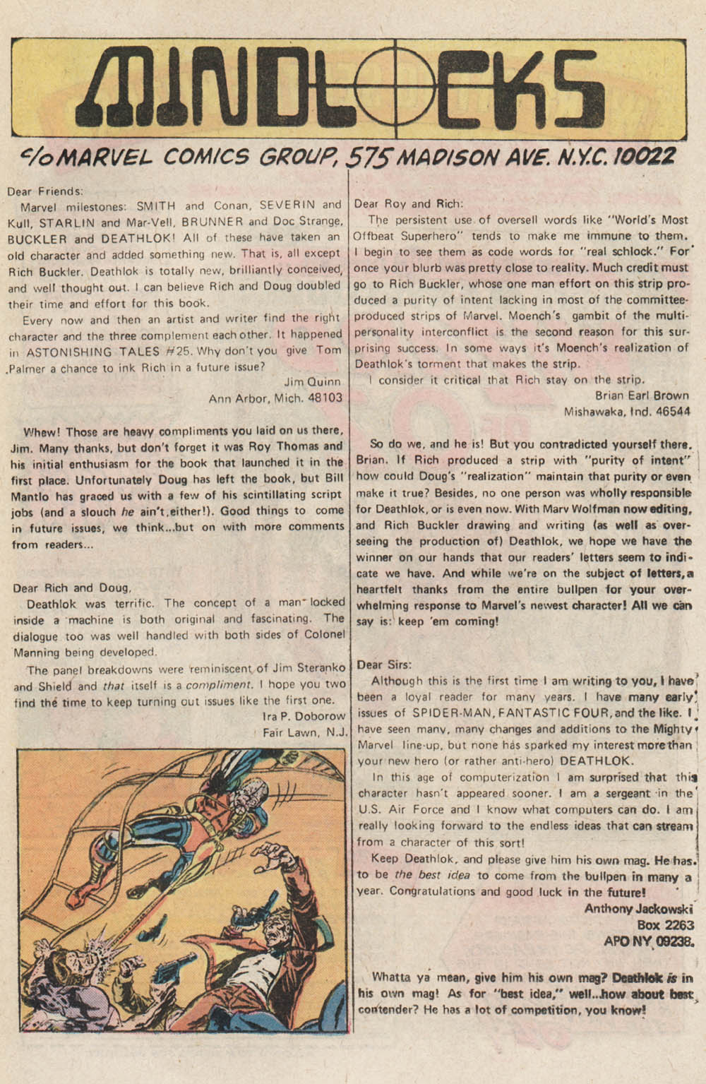 Read online Astonishing Tales (1970) comic -  Issue #32 - 14