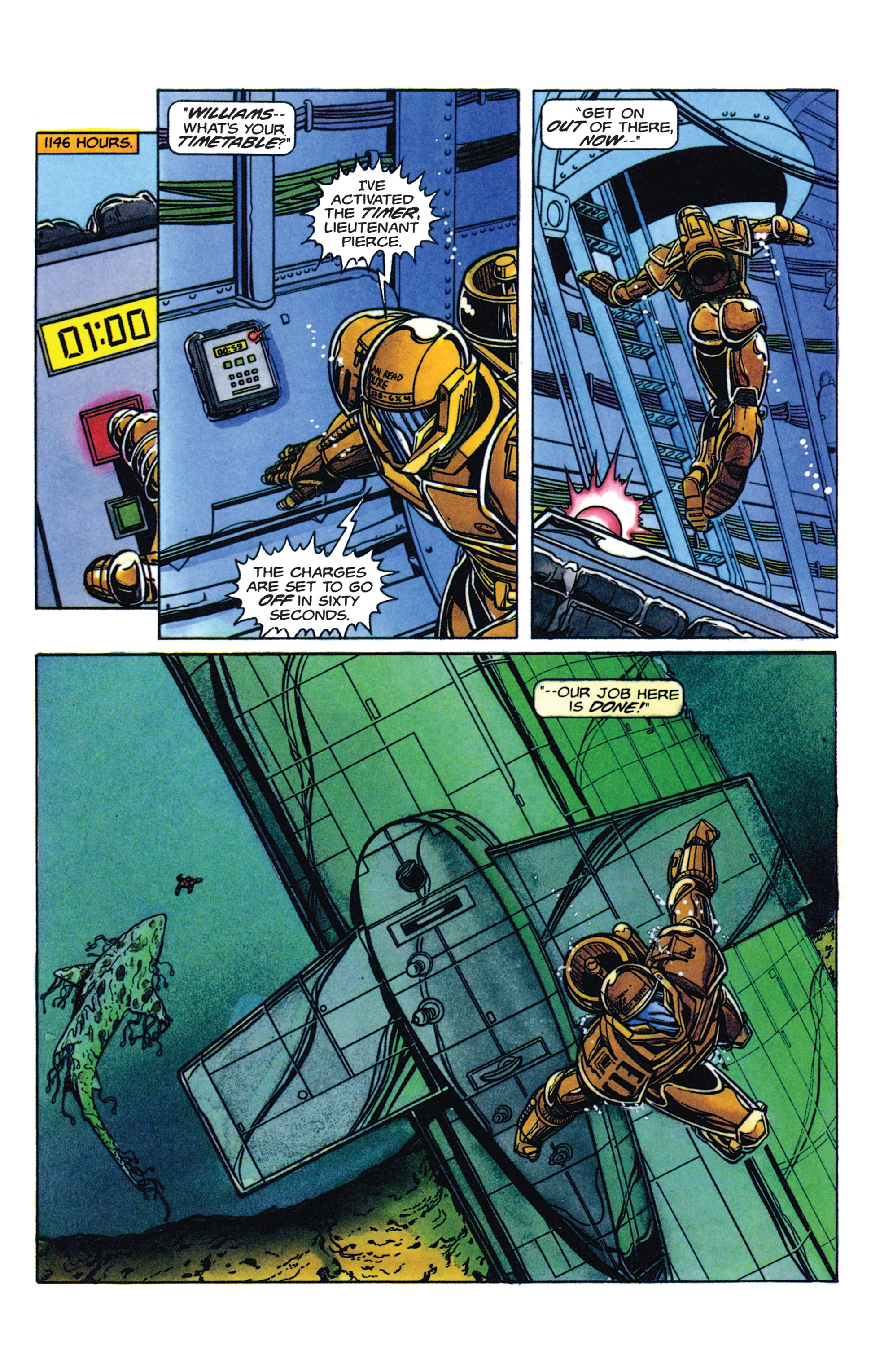 Read online Armorines comic -  Issue #2 - 17