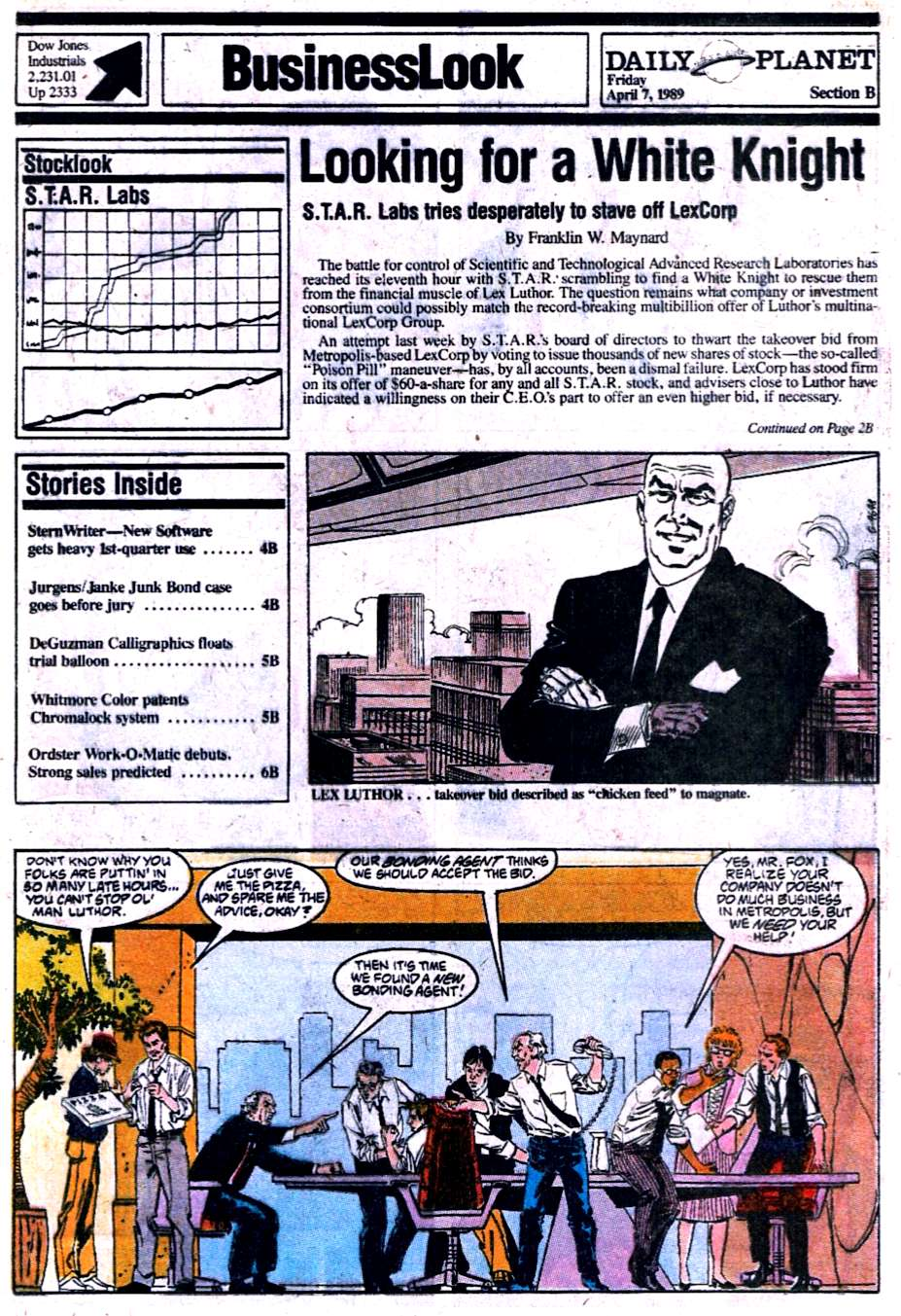 Read online Adventures of Superman (1987) comic -  Issue #454 - 16