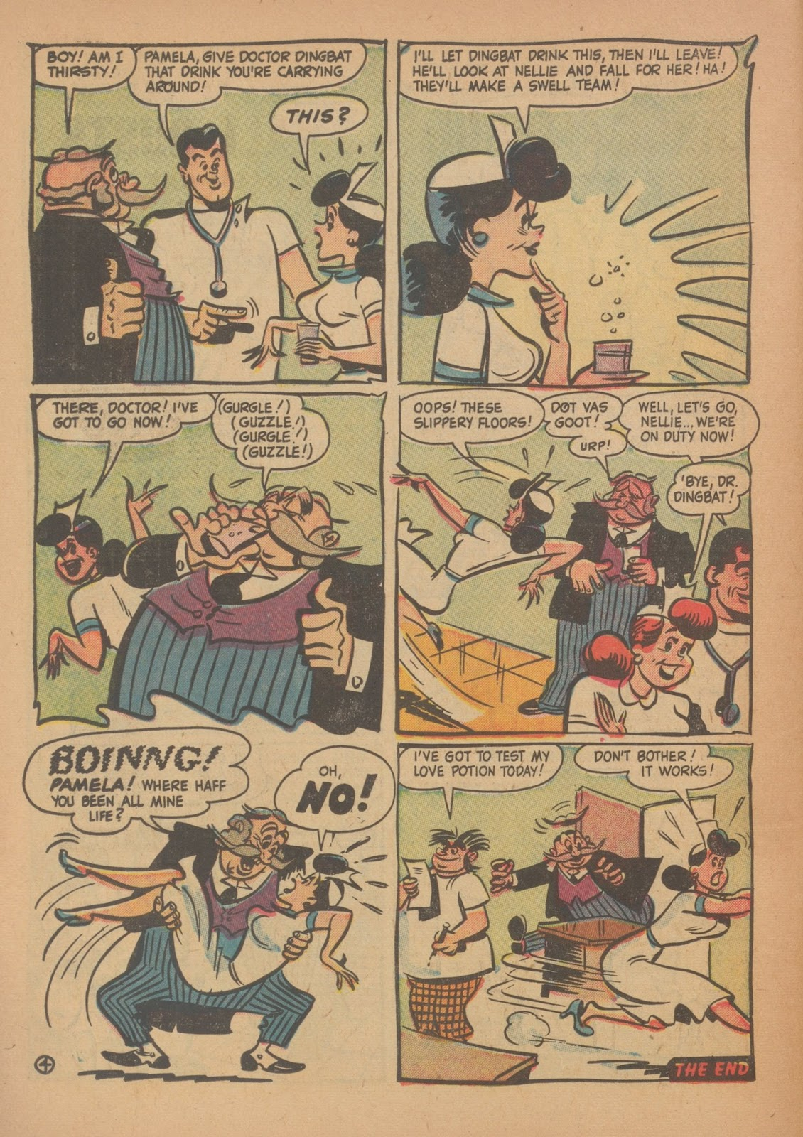 Read online Nellie The Nurse (1945) comic -  Issue #34 - 26
