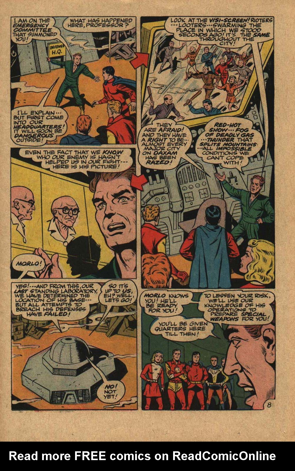 Read online Adventure Comics (1938) comic -  Issue #363 - 11