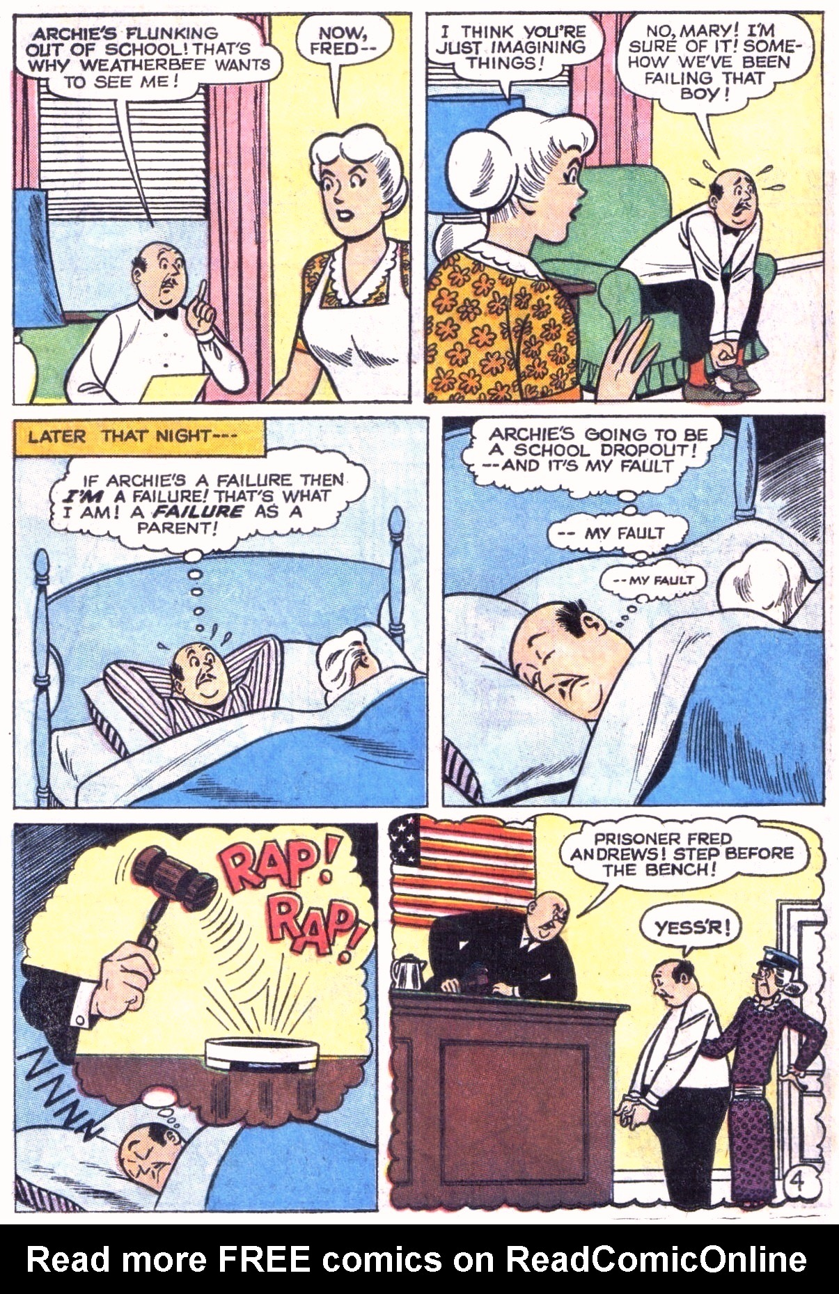 Read online Archie (1960) comic -  Issue #151 - 6