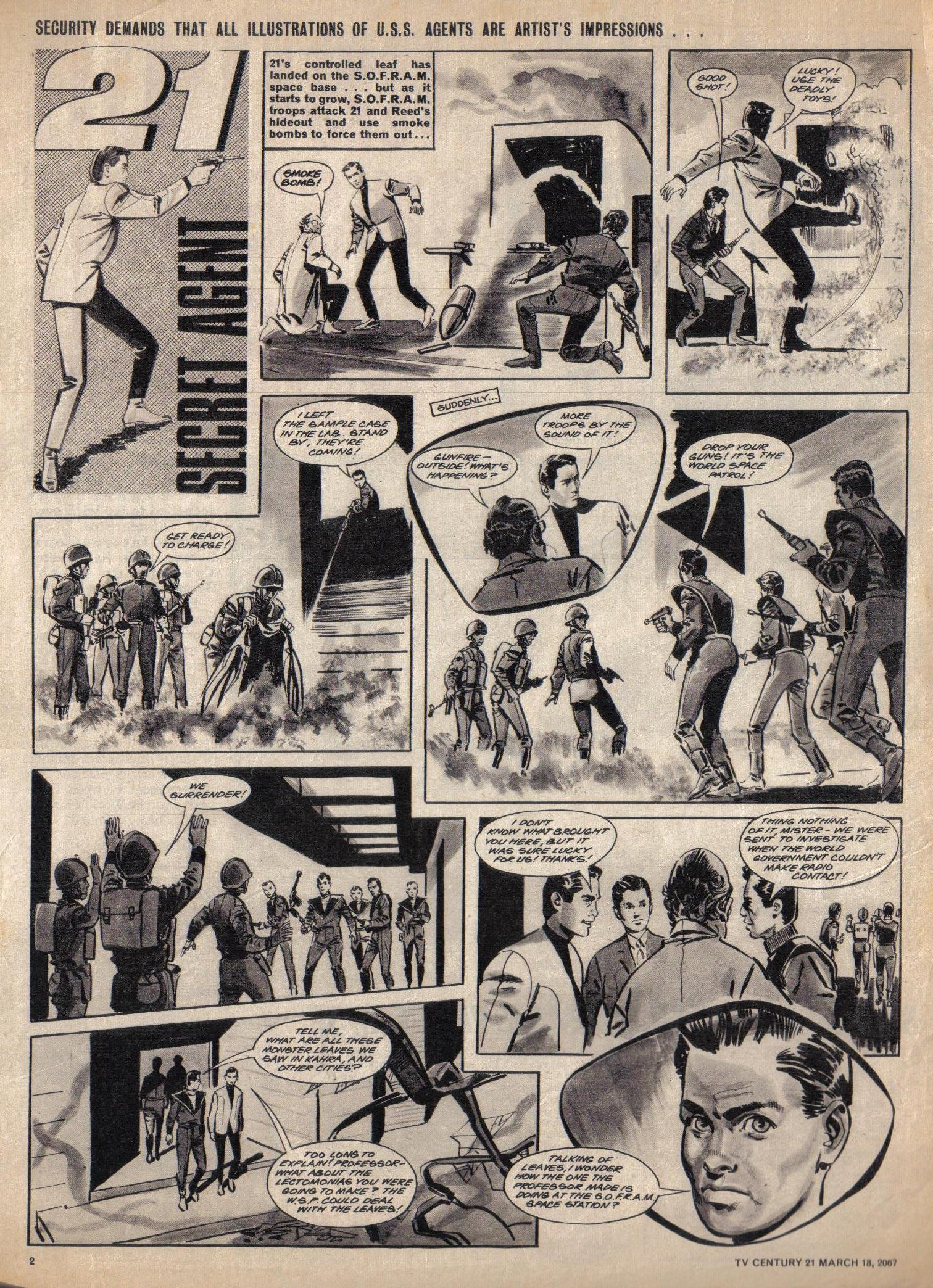 Read online TV Century 21 (TV 21) comic -  Issue #113 - 2