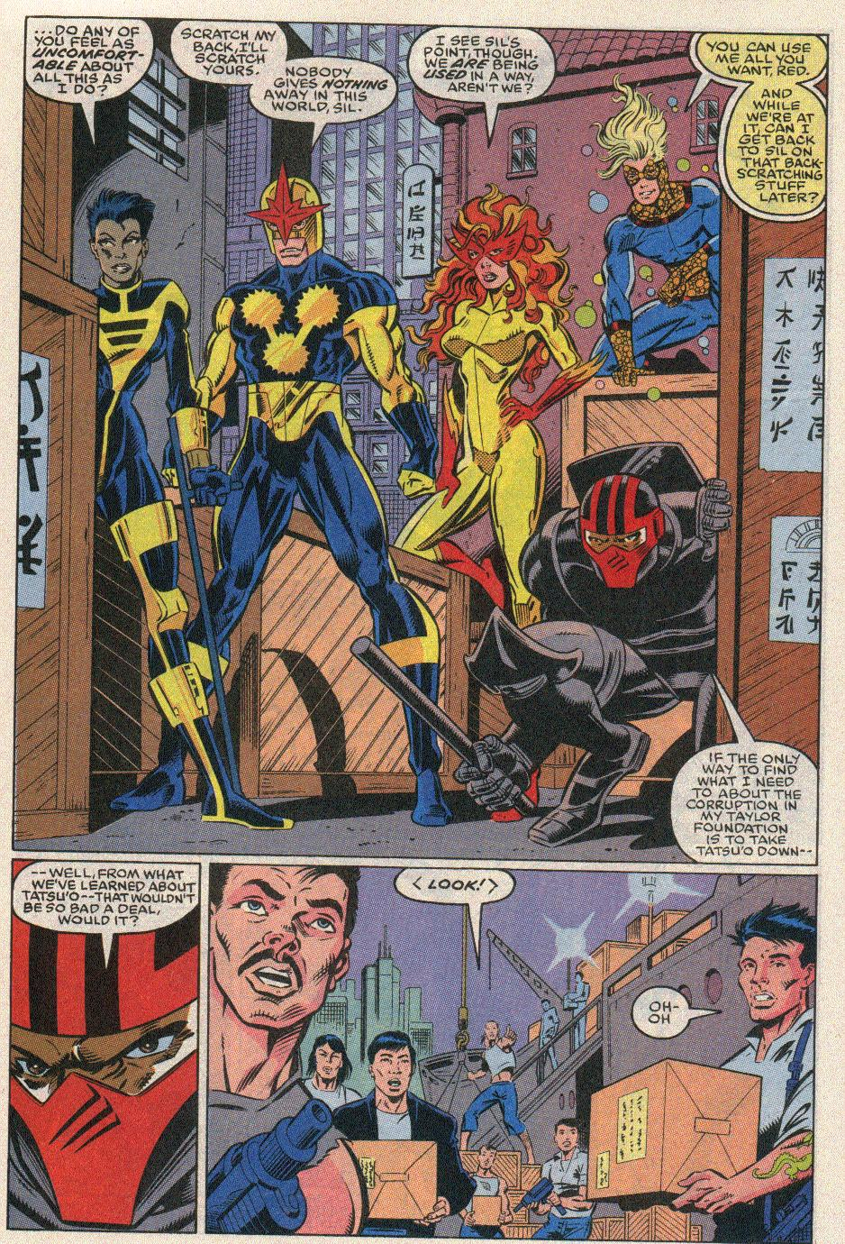 The New Warriors Issue #20 #24 - English 12
