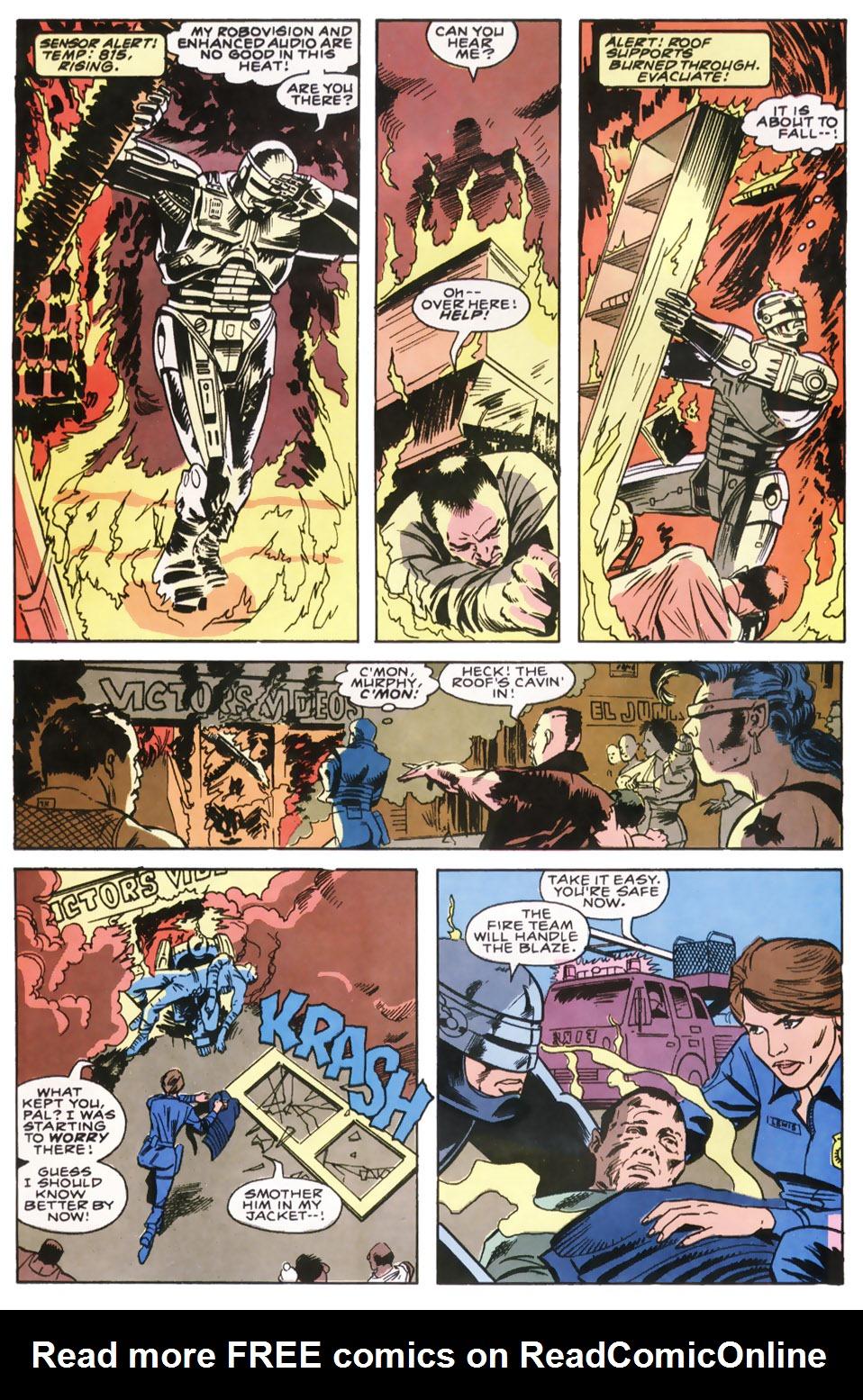 Read online Robocop (1990) comic -  Issue #8 - 3