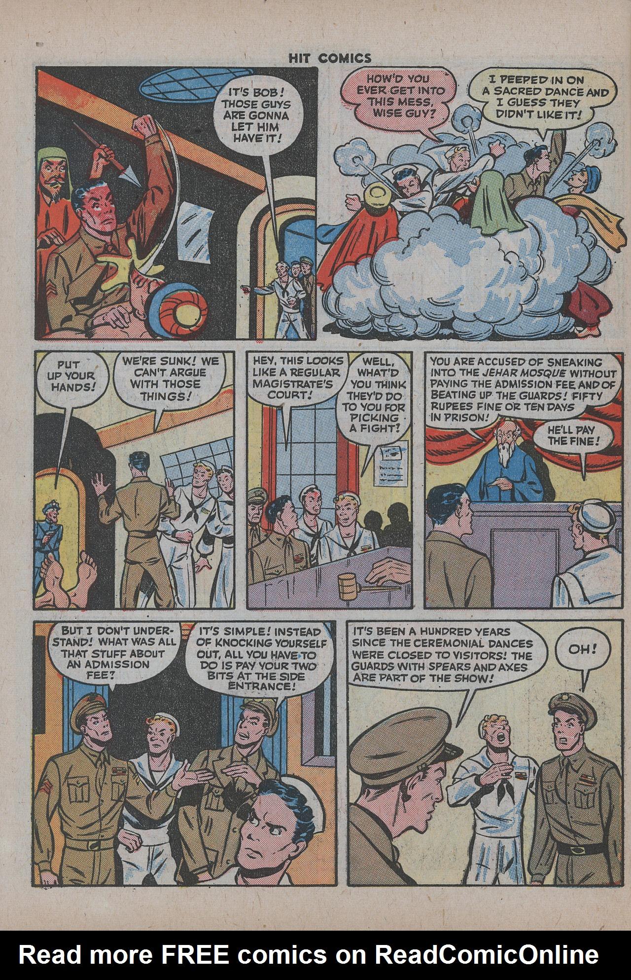Read online Hit Comics comic -  Issue #38 - 53