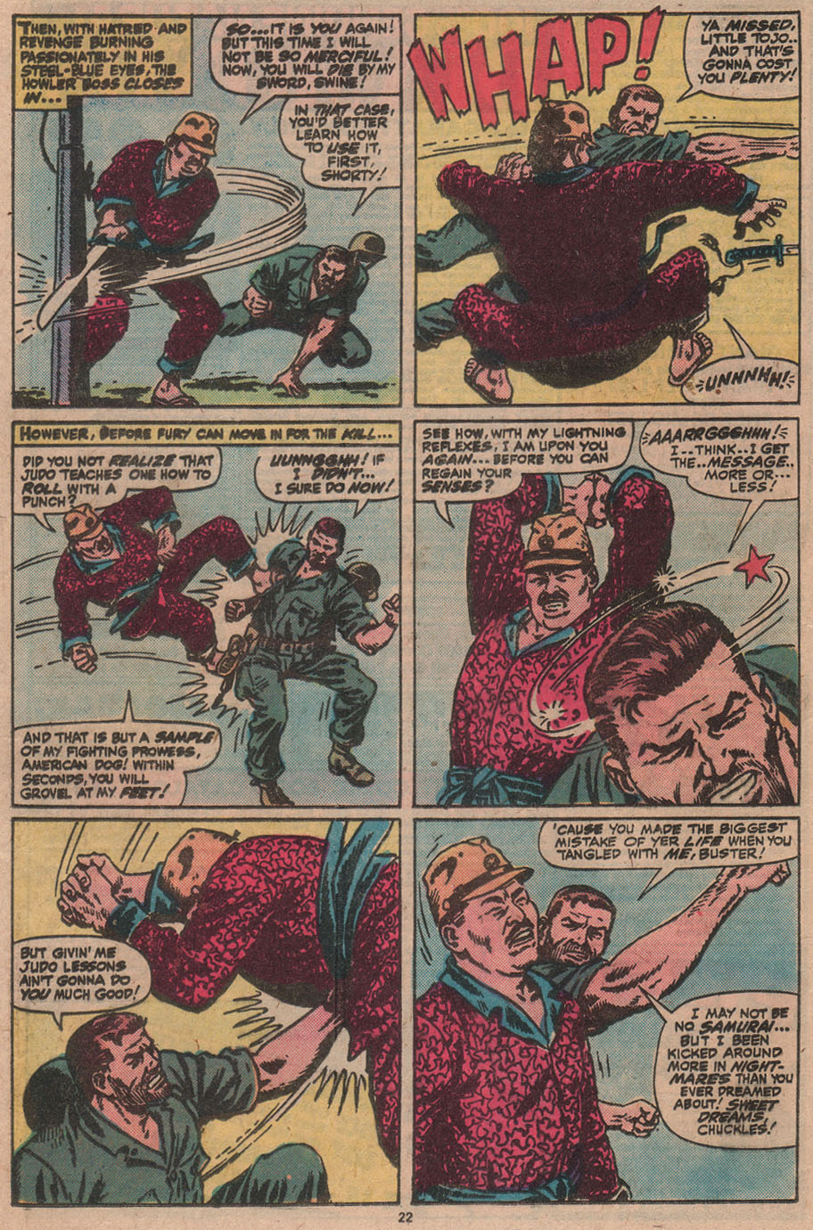 Read online Sgt. Fury comic -  Issue #145 - 24