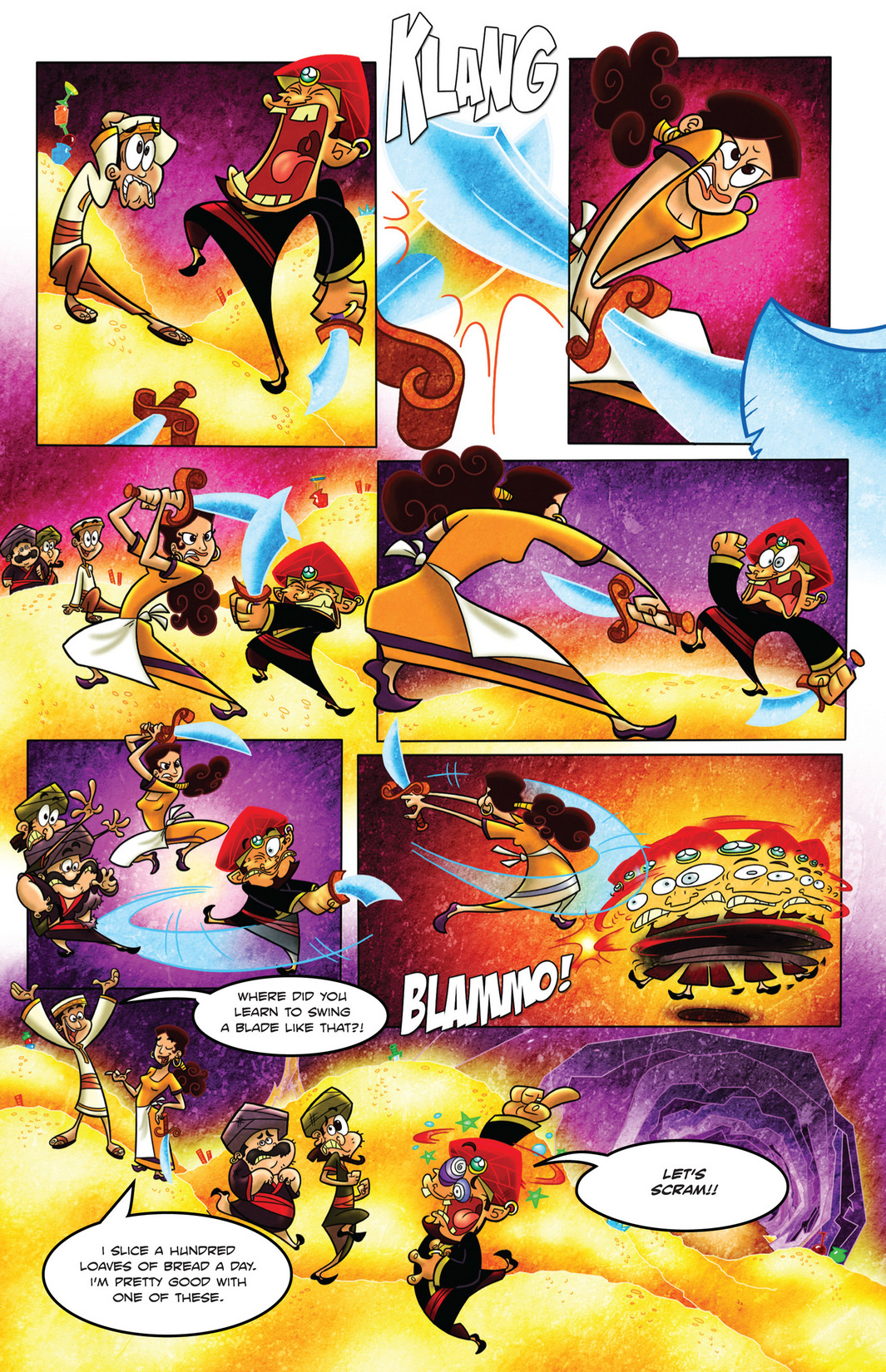 Read online 1001 Nights comic -  Issue #4 - 22