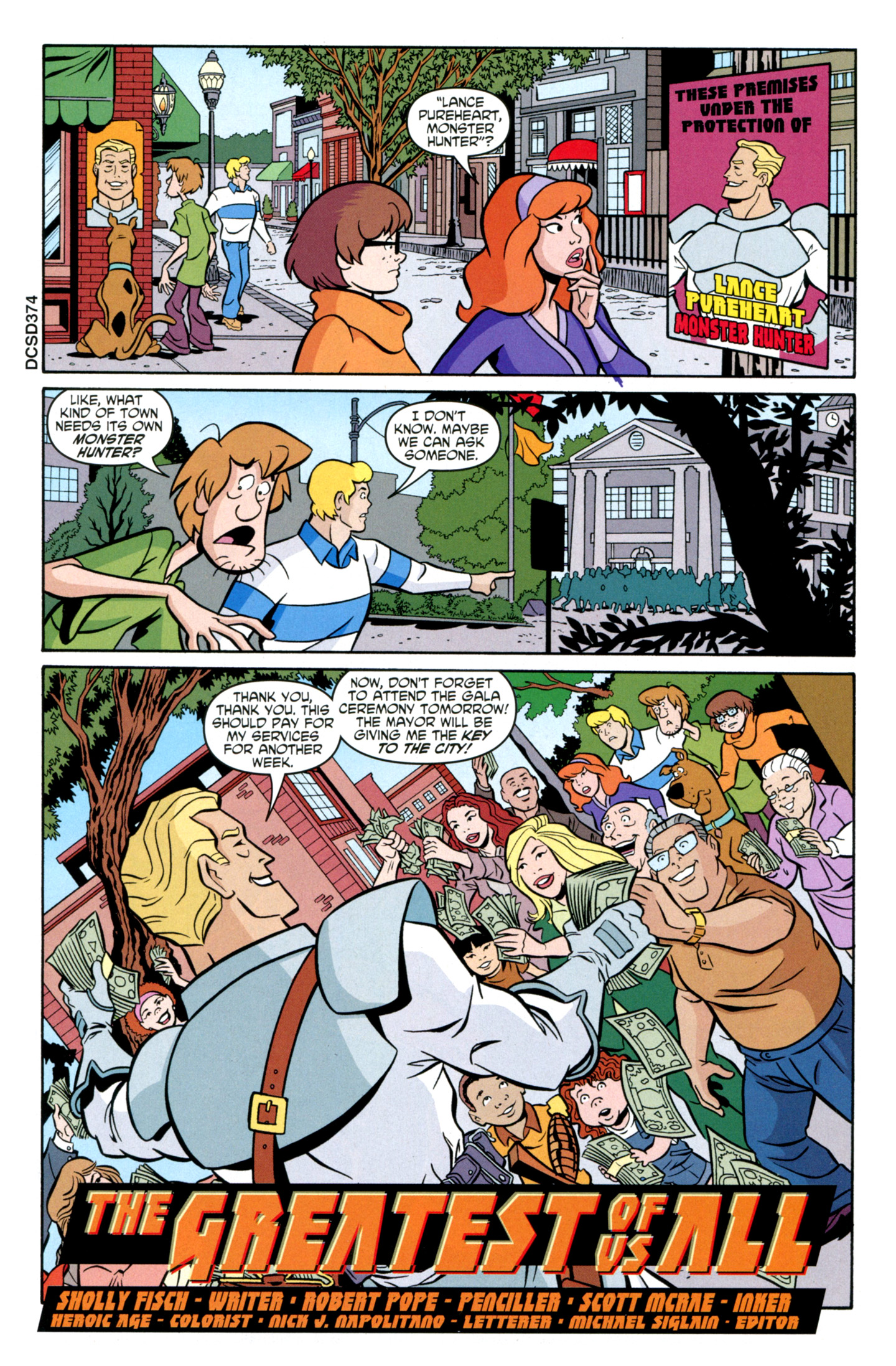 Read online Scooby-Doo: Where Are You? comic -  Issue #27 - 17