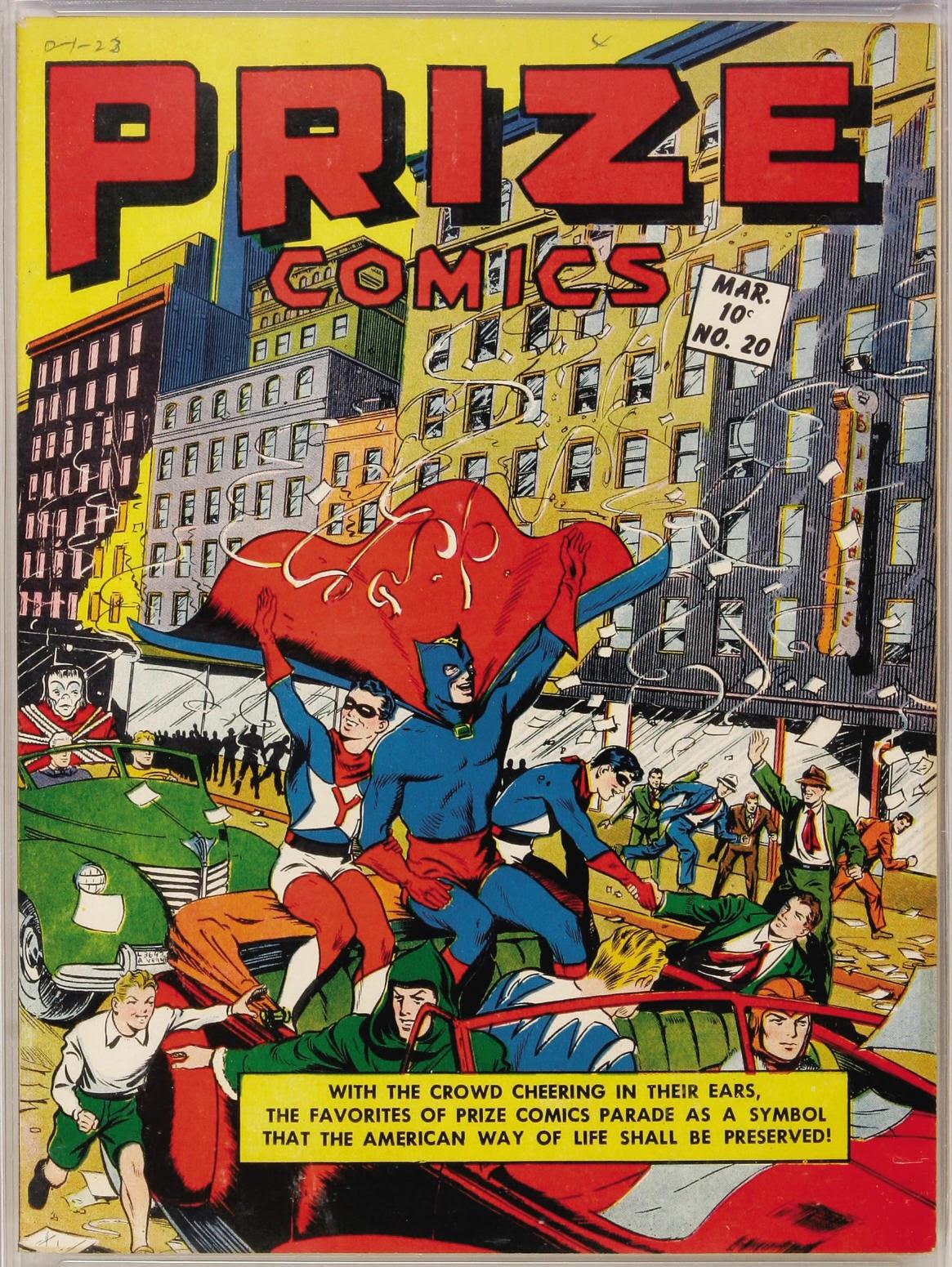 Prize Comics 20 Page 1