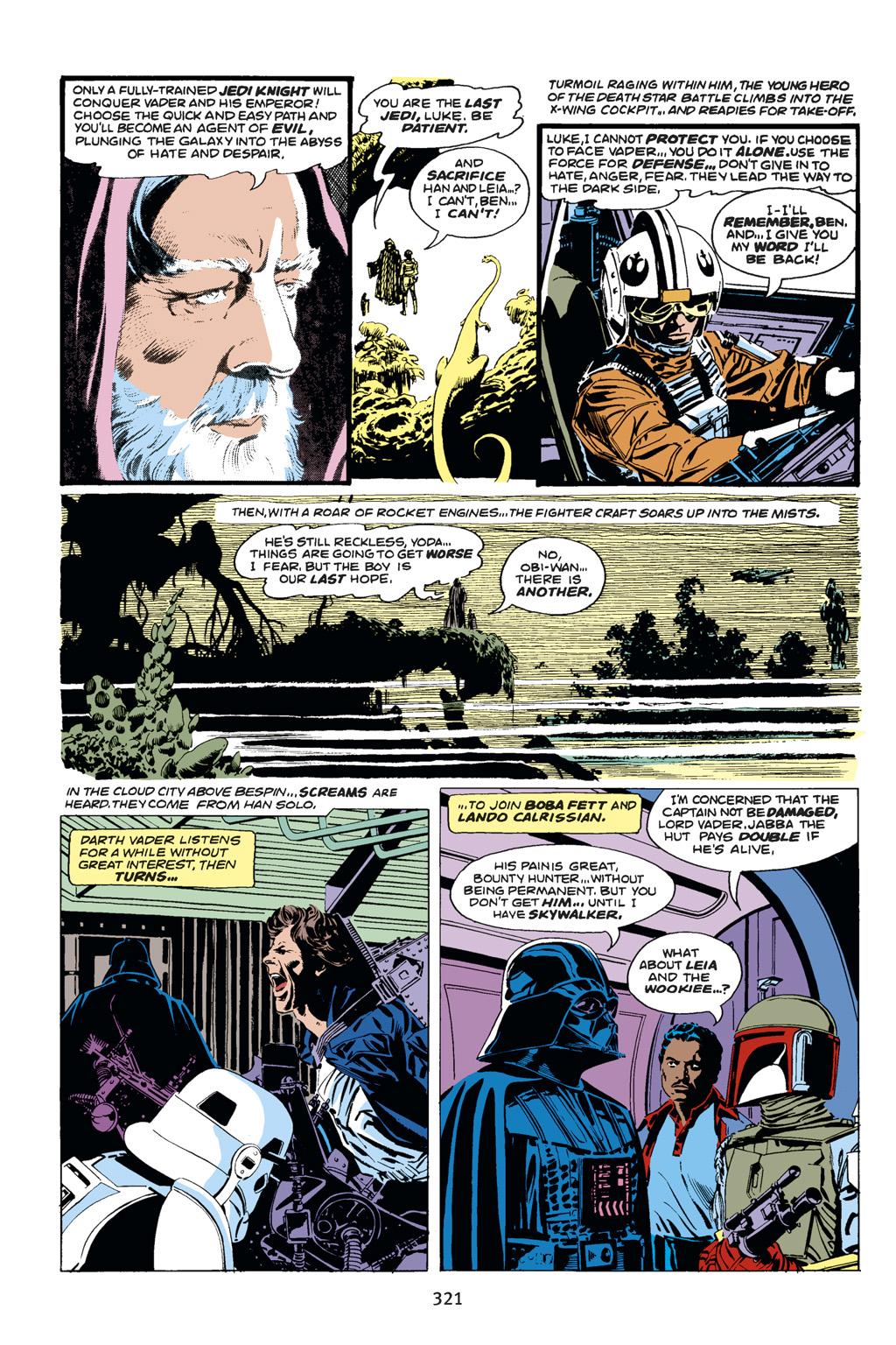 Read online Star Wars Omnibus comic -  Issue # Vol. 14 - 319