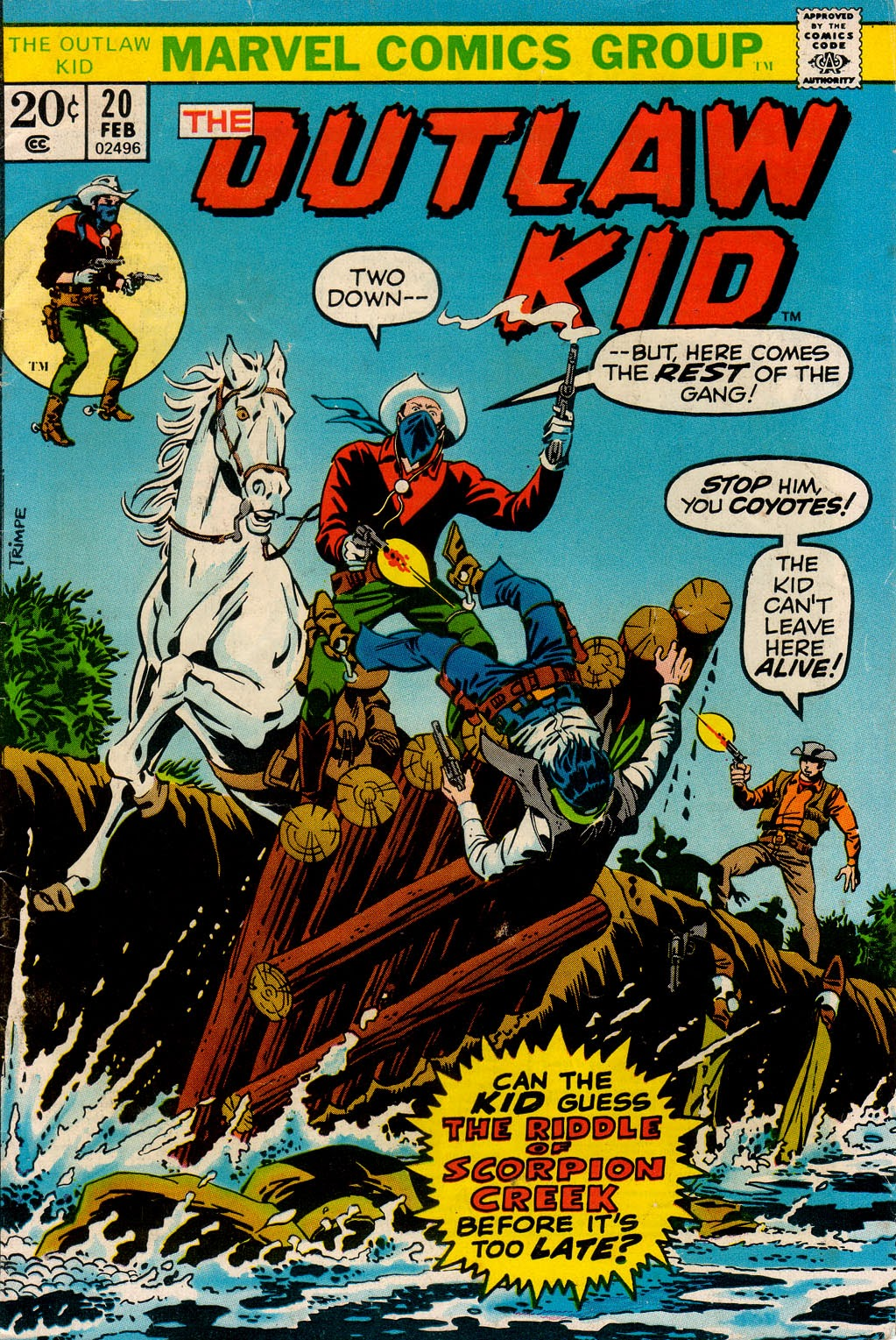 The Outlaw Kid (1970) 20 Page 1