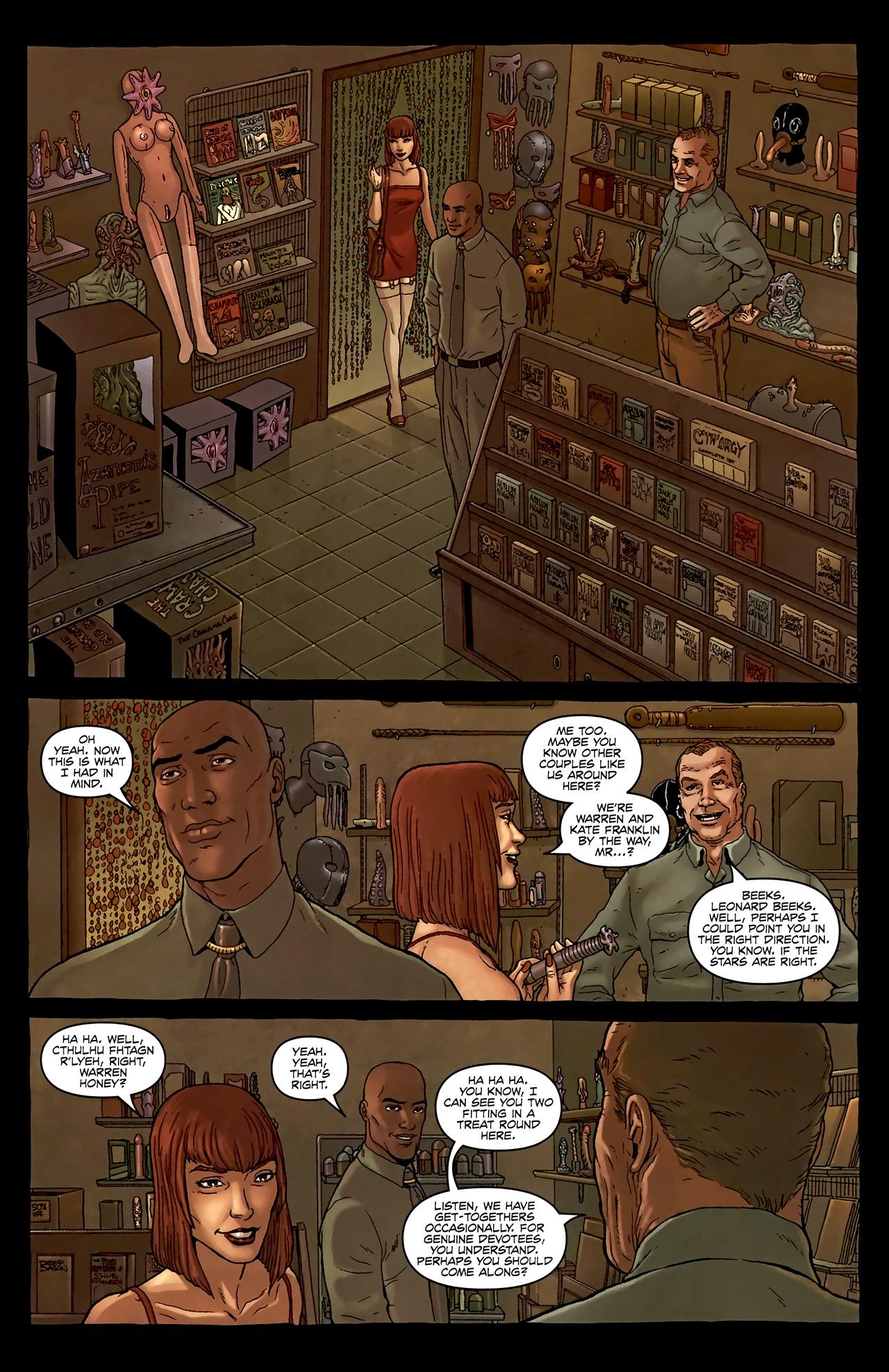 Read online Alan Moore's Neonomicon comic -  Issue #2 - 16