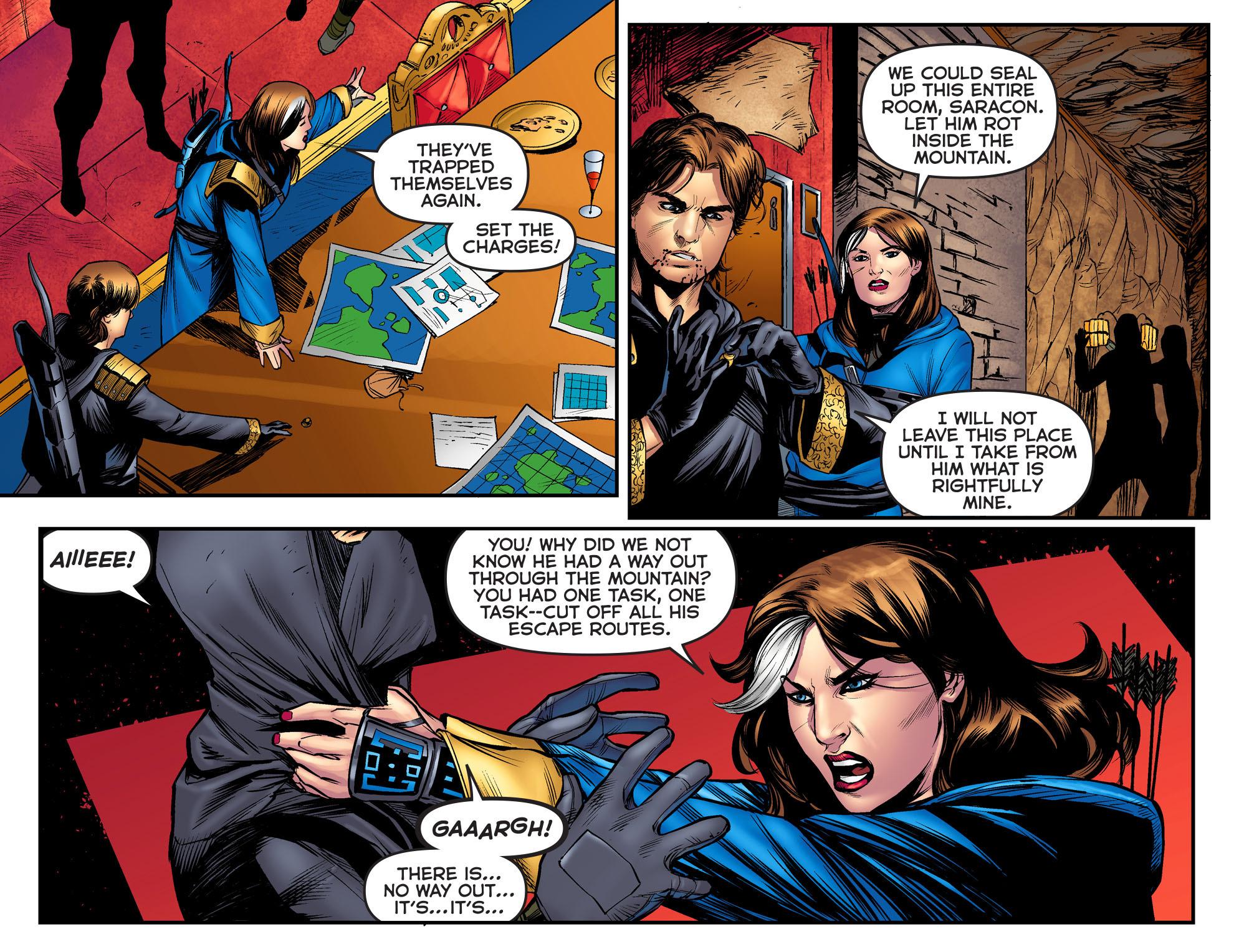 Read online Arrow: The Dark Archer comic -  Issue #3 - 7