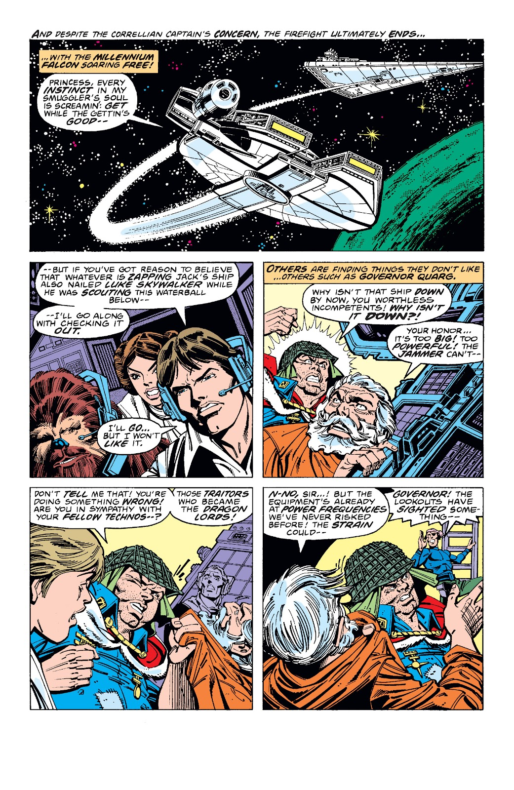 Read online Star Wars Legends: The Original Marvel Years - Epic Collection comic -  Issue # TPB 1 (Part 3) - 39