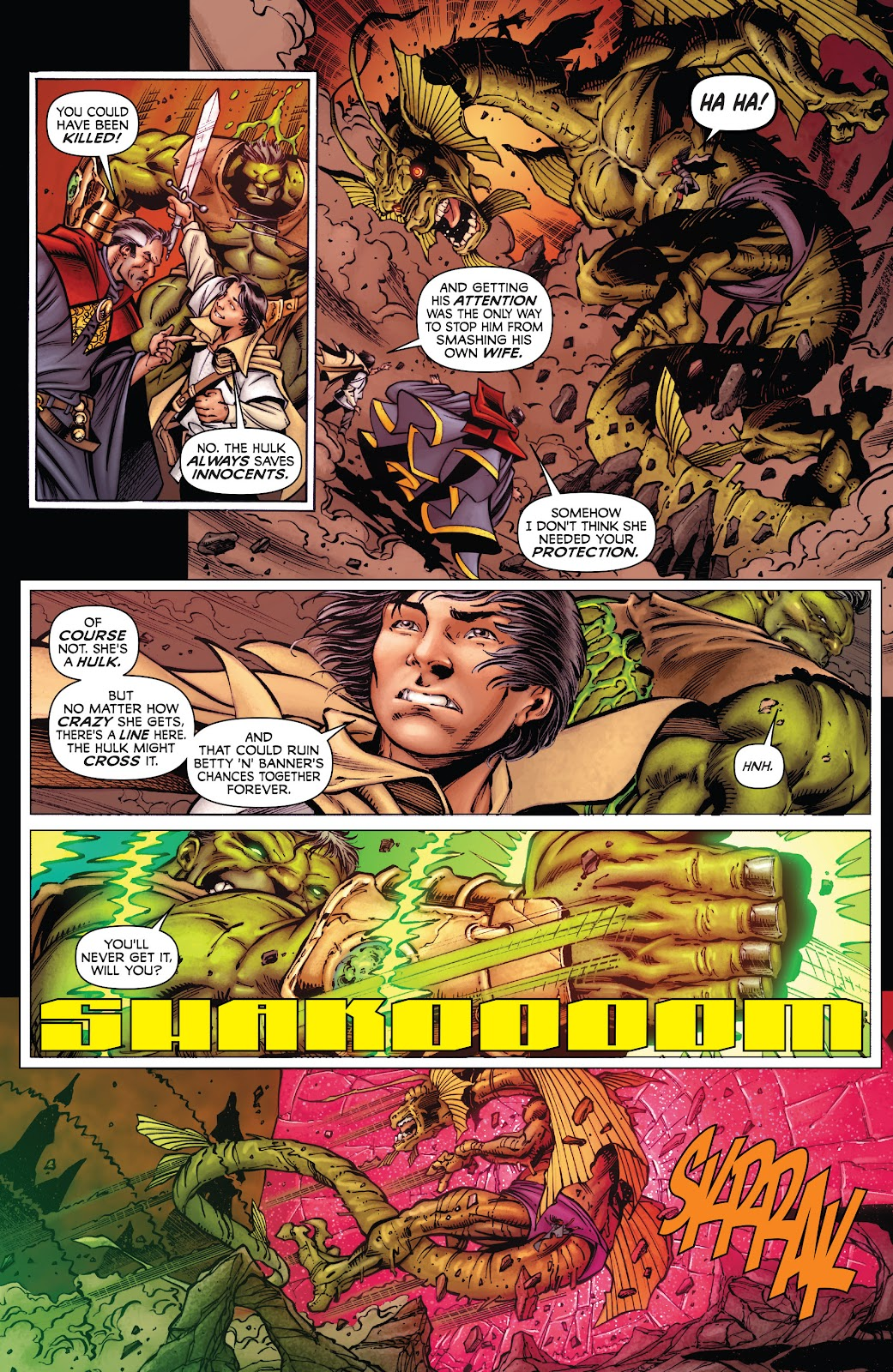 Read online Incredible Hulks (2010) comic -  Issue # _TPB Heart of the Monster - 92