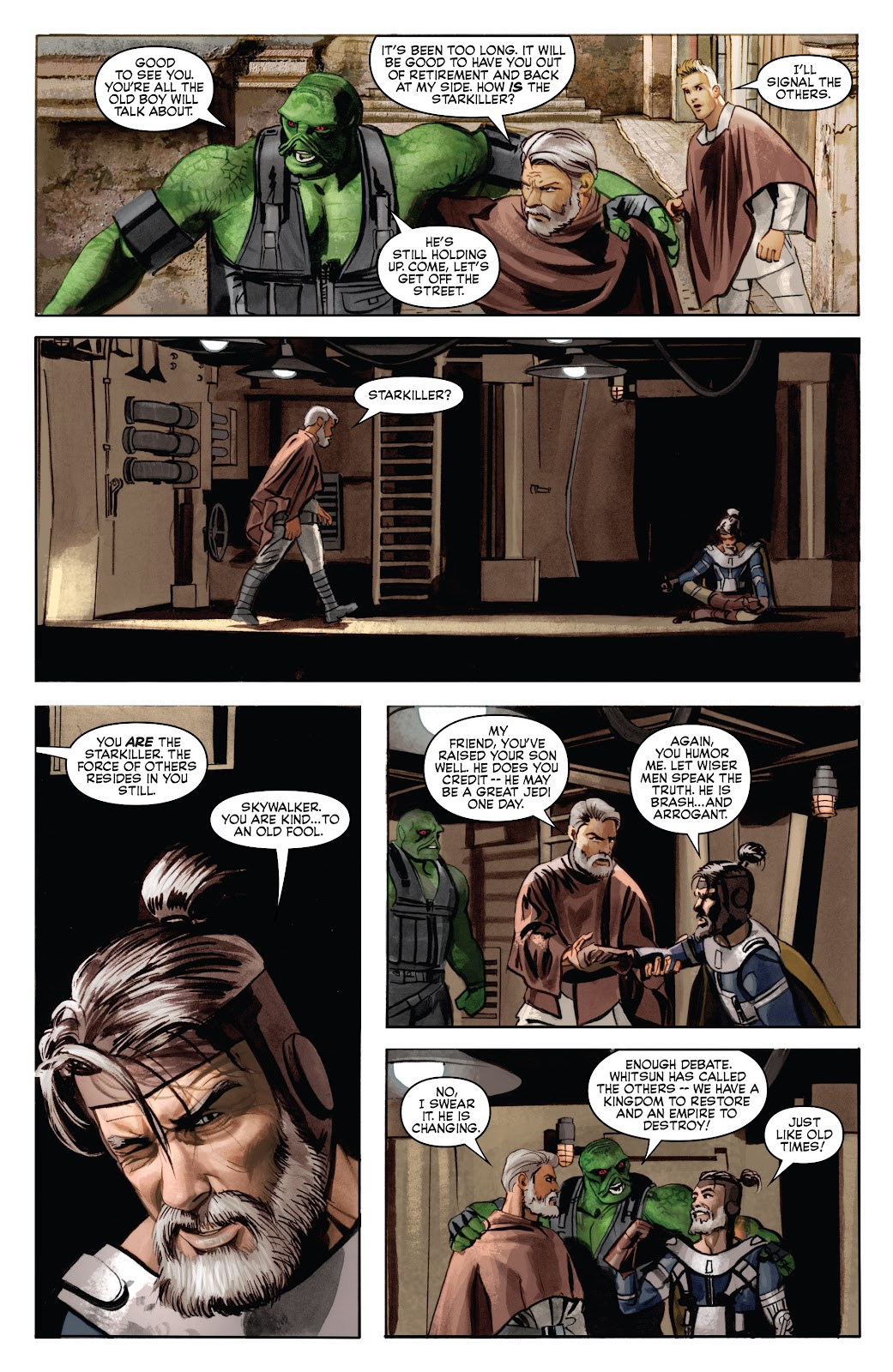 Read online Star Wars Legends: Infinities - Epic Collection comic -  Issue # TPB (Part 4) - 85