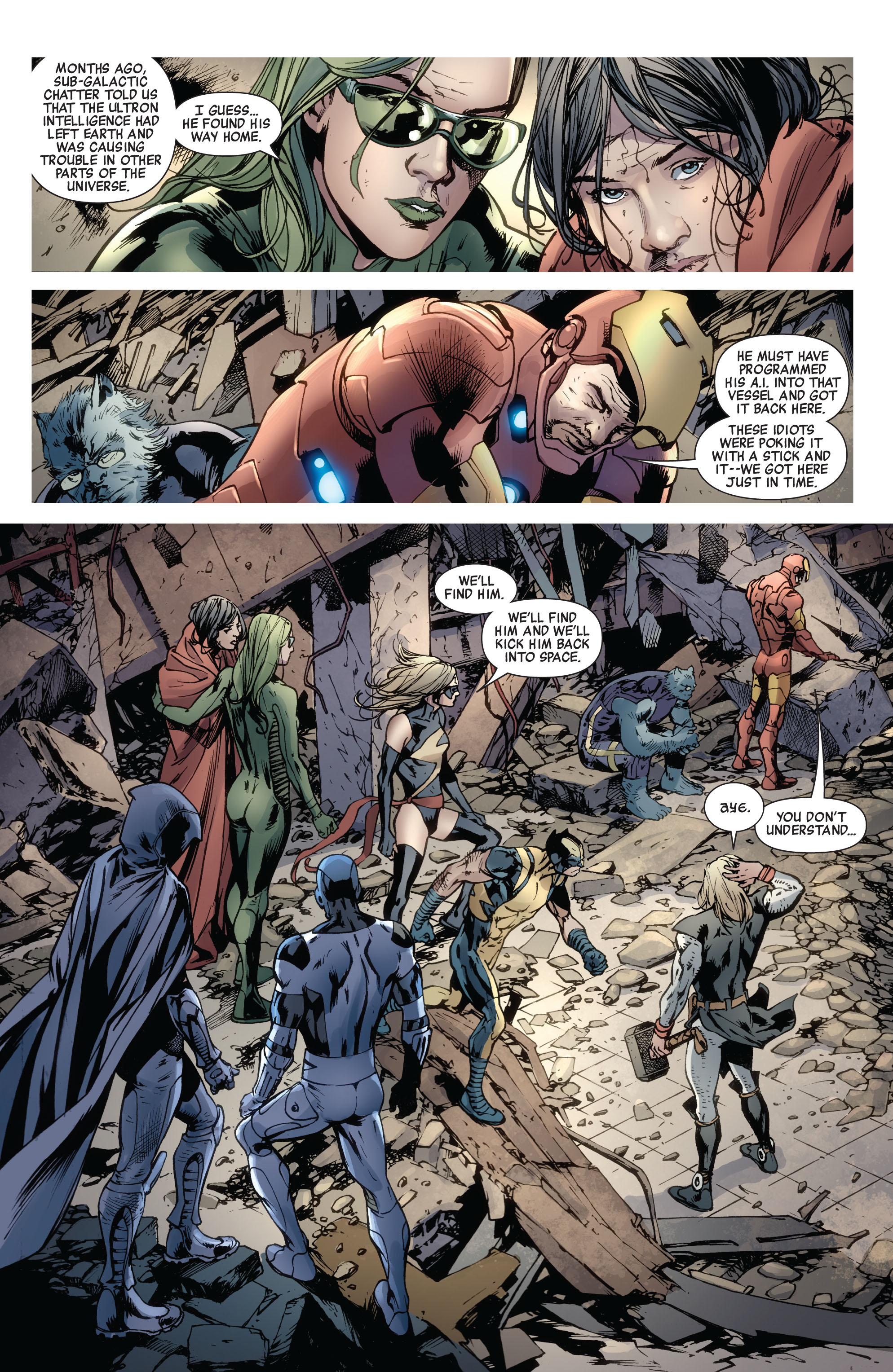 Read online Avengers (2010) comic -  Issue #12.1 - 25